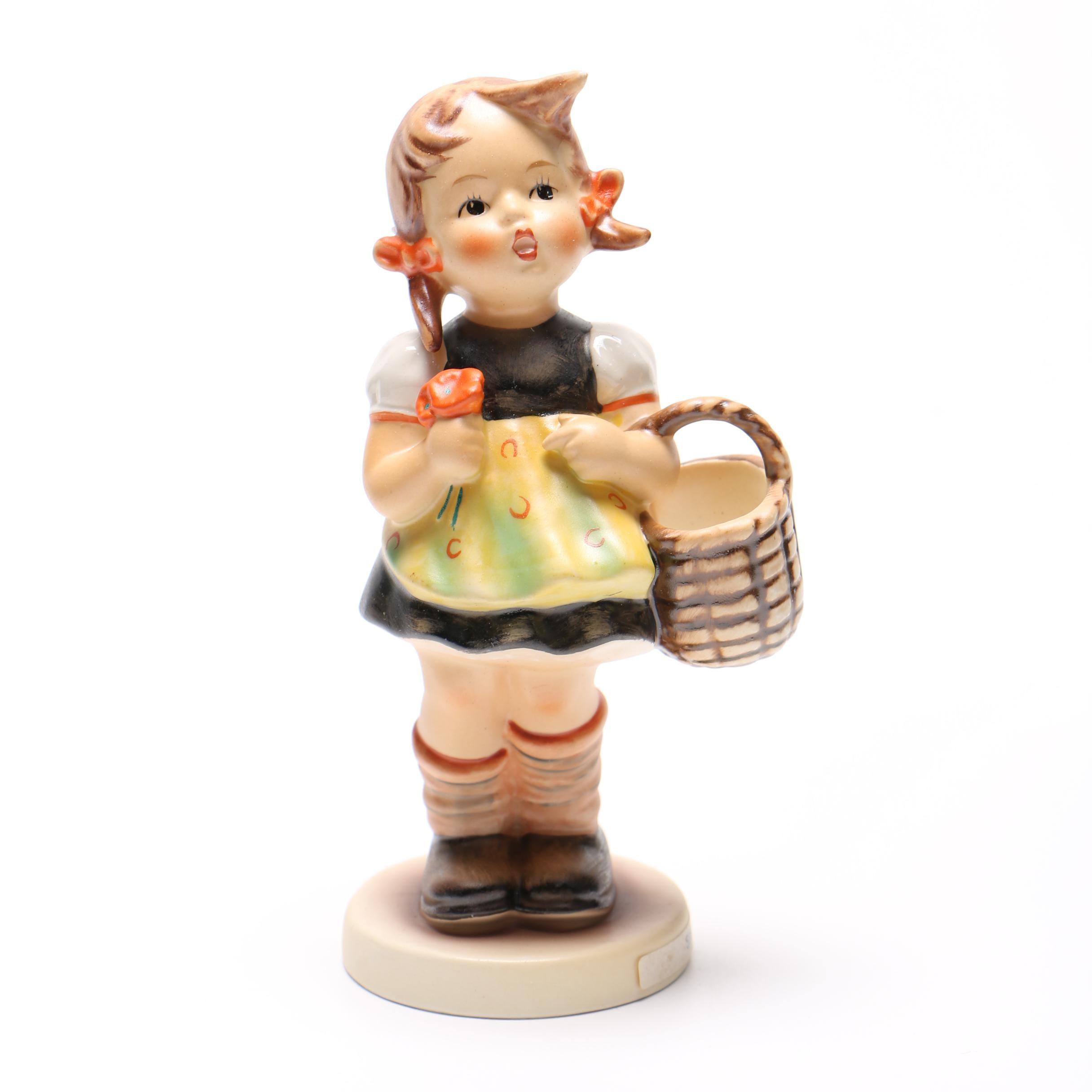 """Hummel """"Little Shopper"""" Figurine"""
