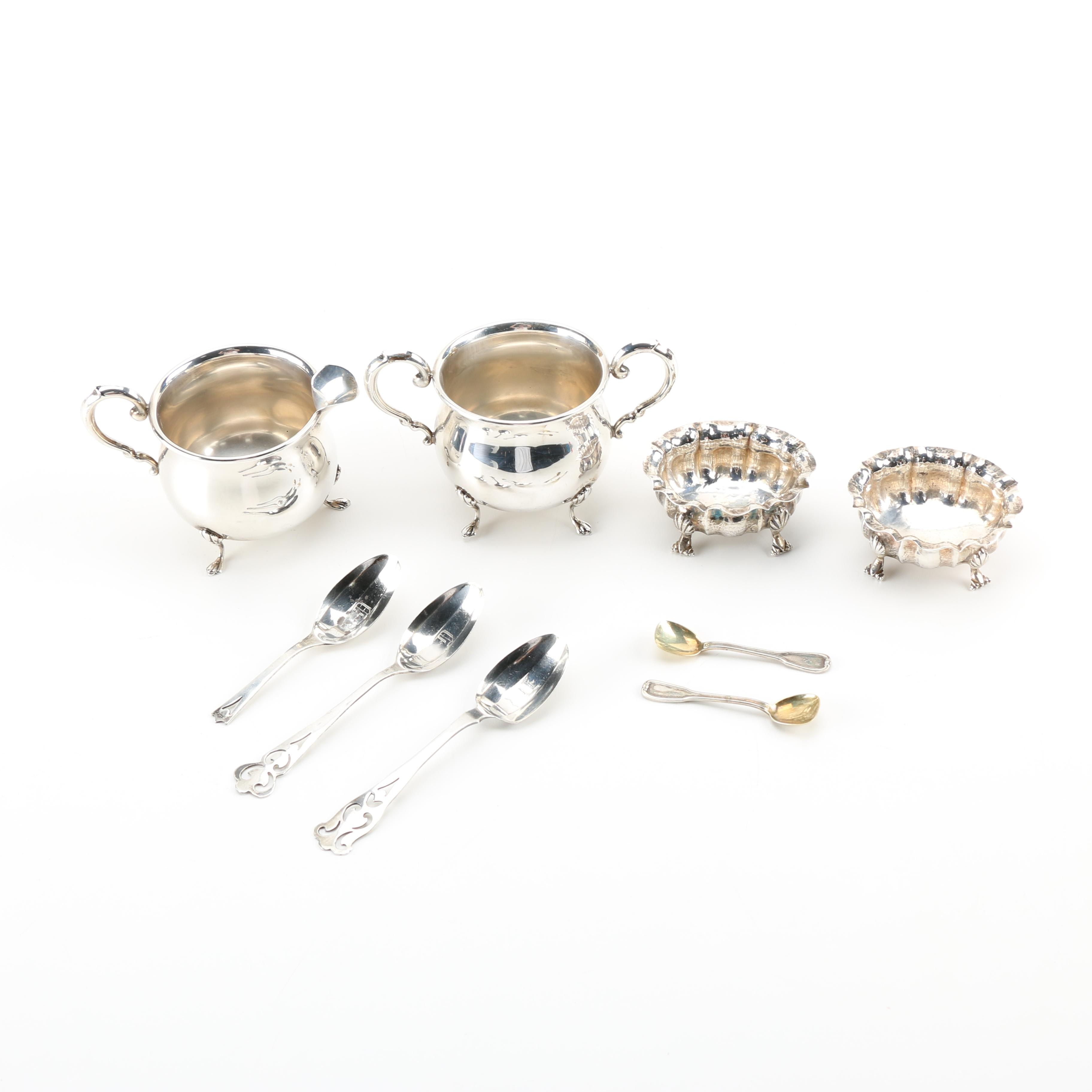 Vintage Buccellati and Baker-Manchester Sterling Silver With Others