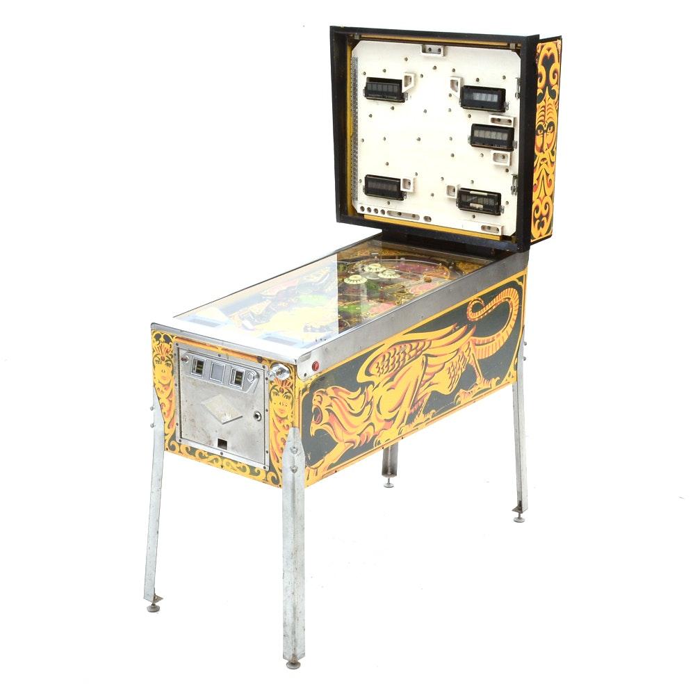 "Vintage Bally ""Lost World"" Pinball Machine"