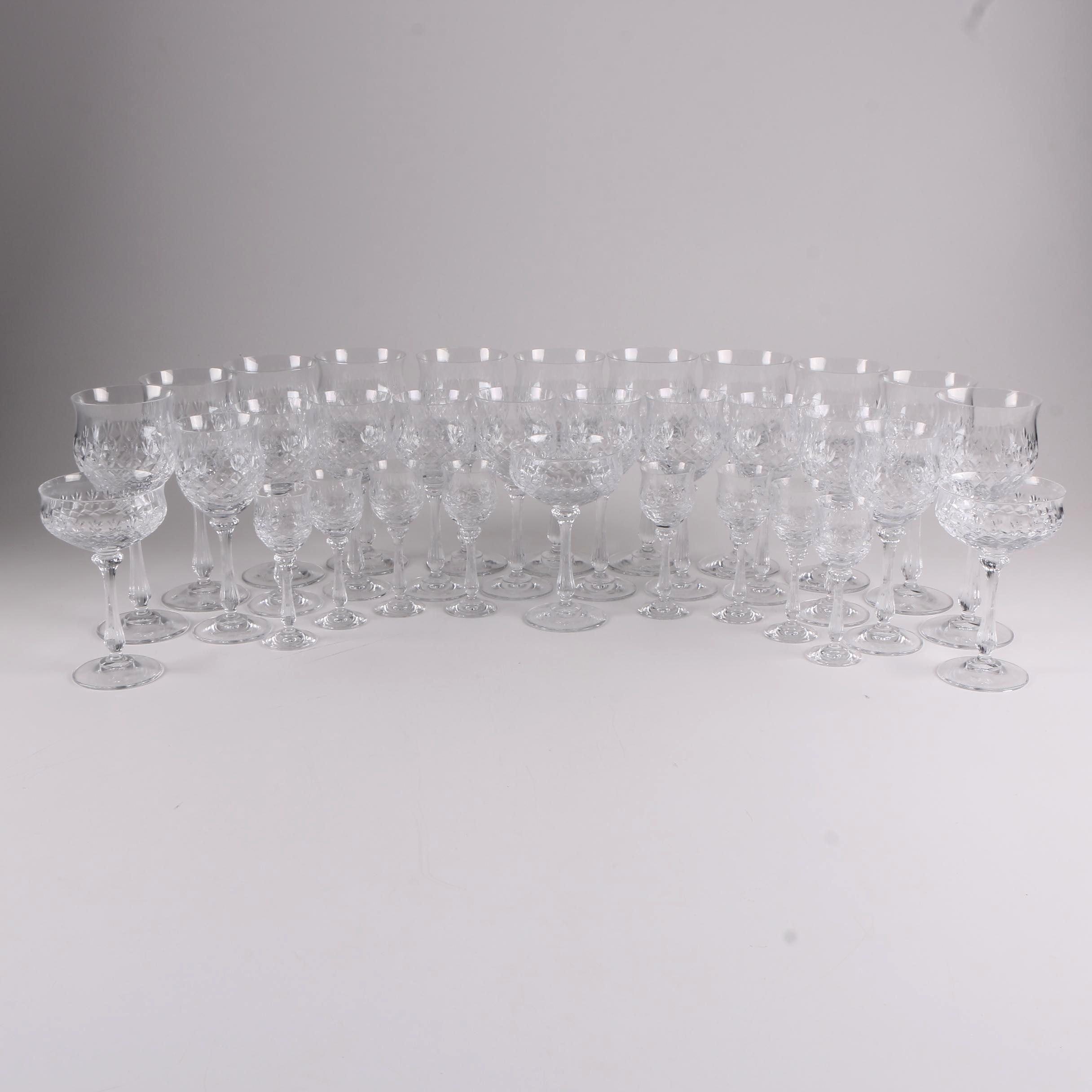 """Mikassa """"Chateau"""" Crystal Stemware"""