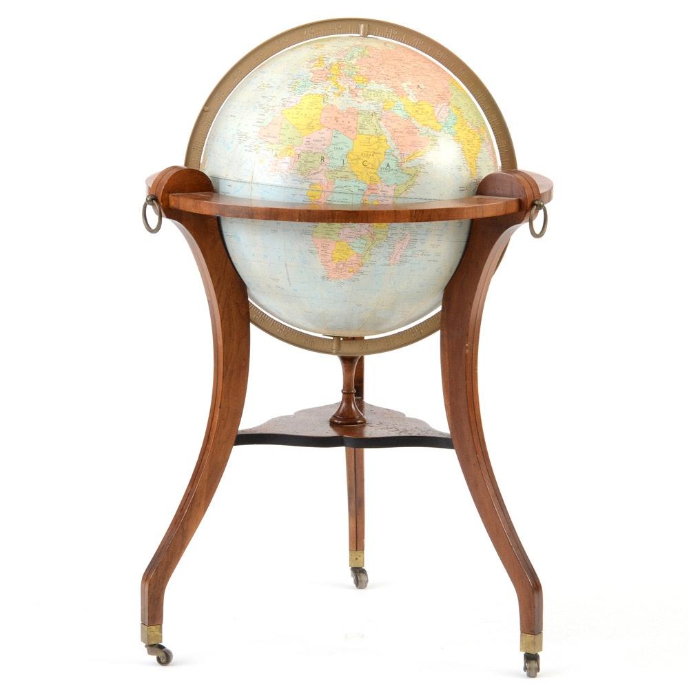 Regency Style Repogle Globe-on-Stand