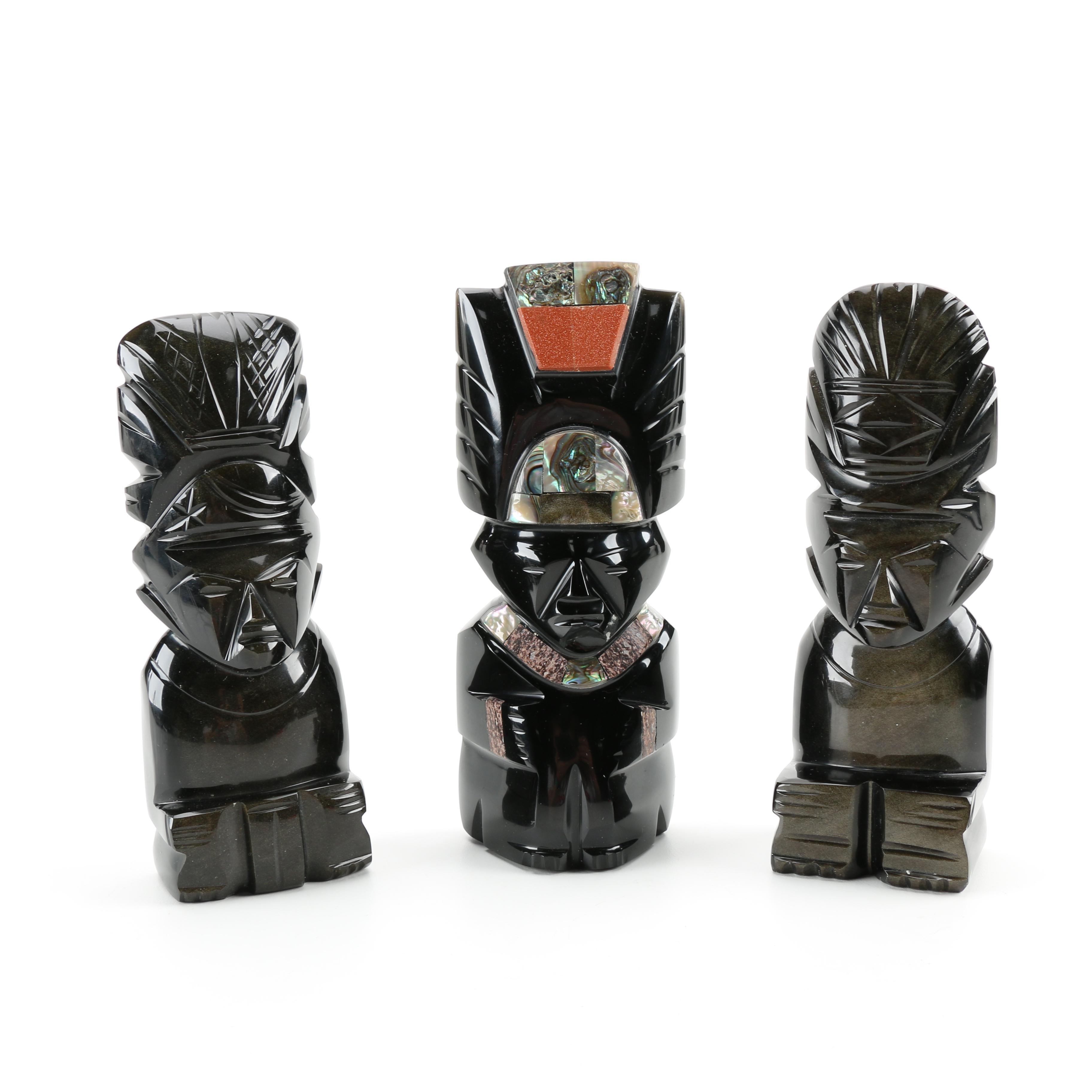Tribal Style  Figurines