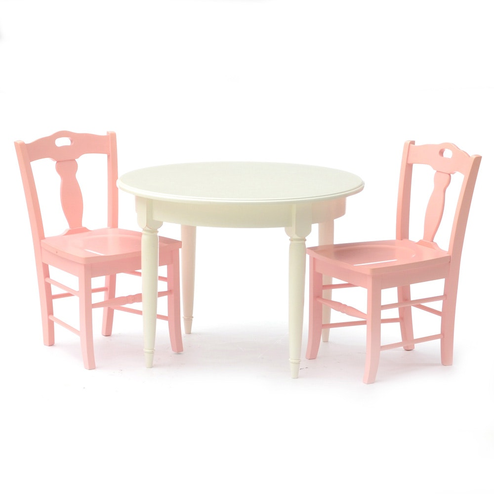 Pottery Barn Kids Table and Two Chairs