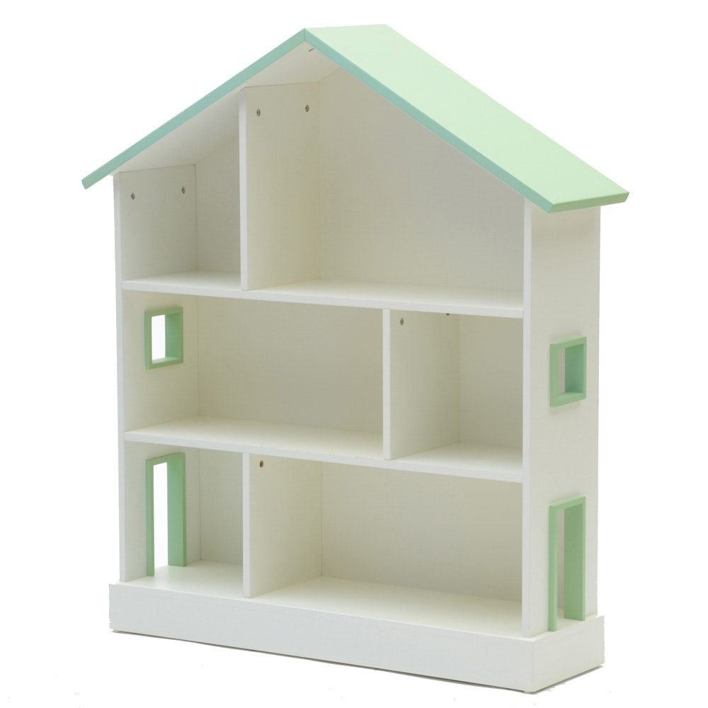 Pottery Barn Kids House Bookshelf Ebth