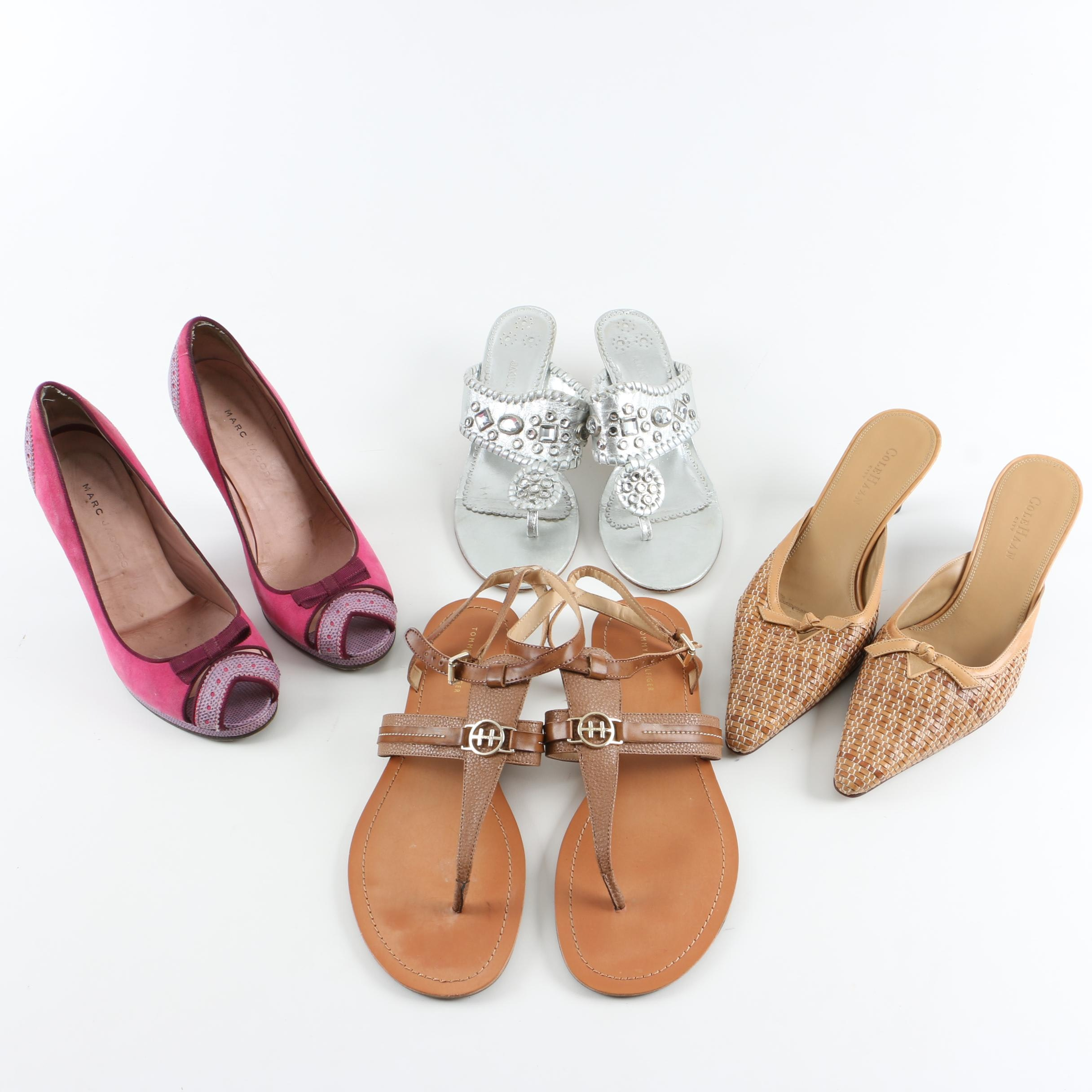Women's Shoes Including Jack Rogers and Marc Jacobs