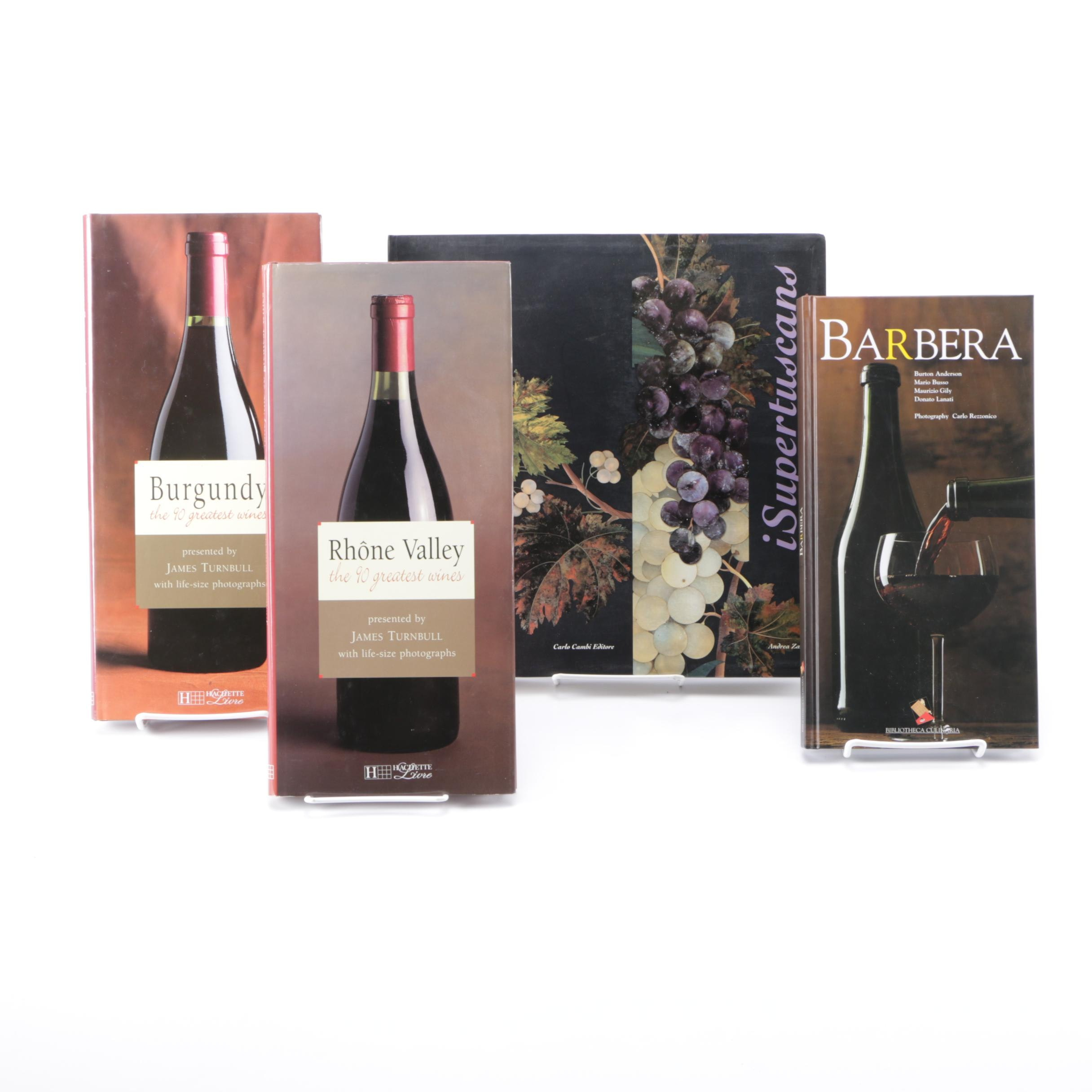 Selection of Books on Wine