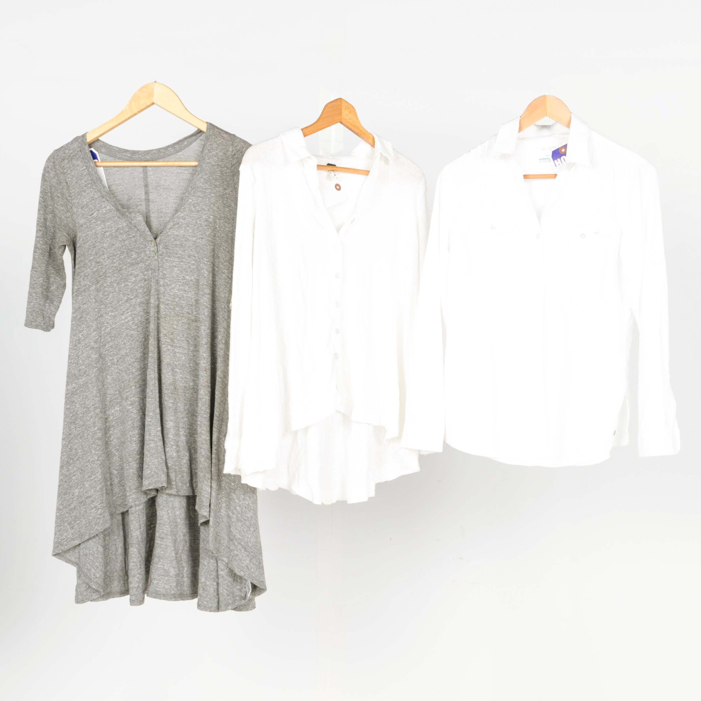 Women's Tops Including We The Free and Columbia