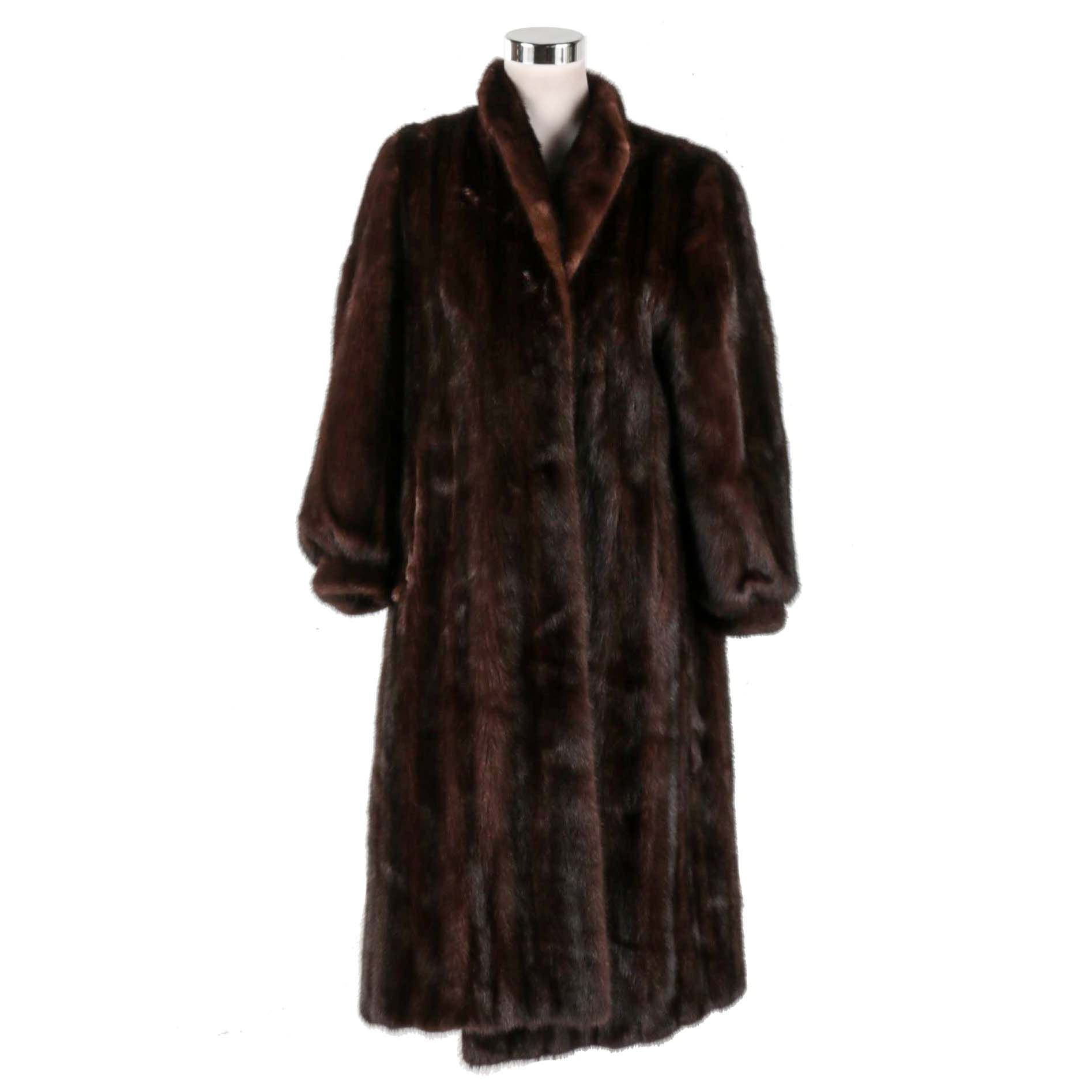 Michael Fur Co. Full Length Mink Coat