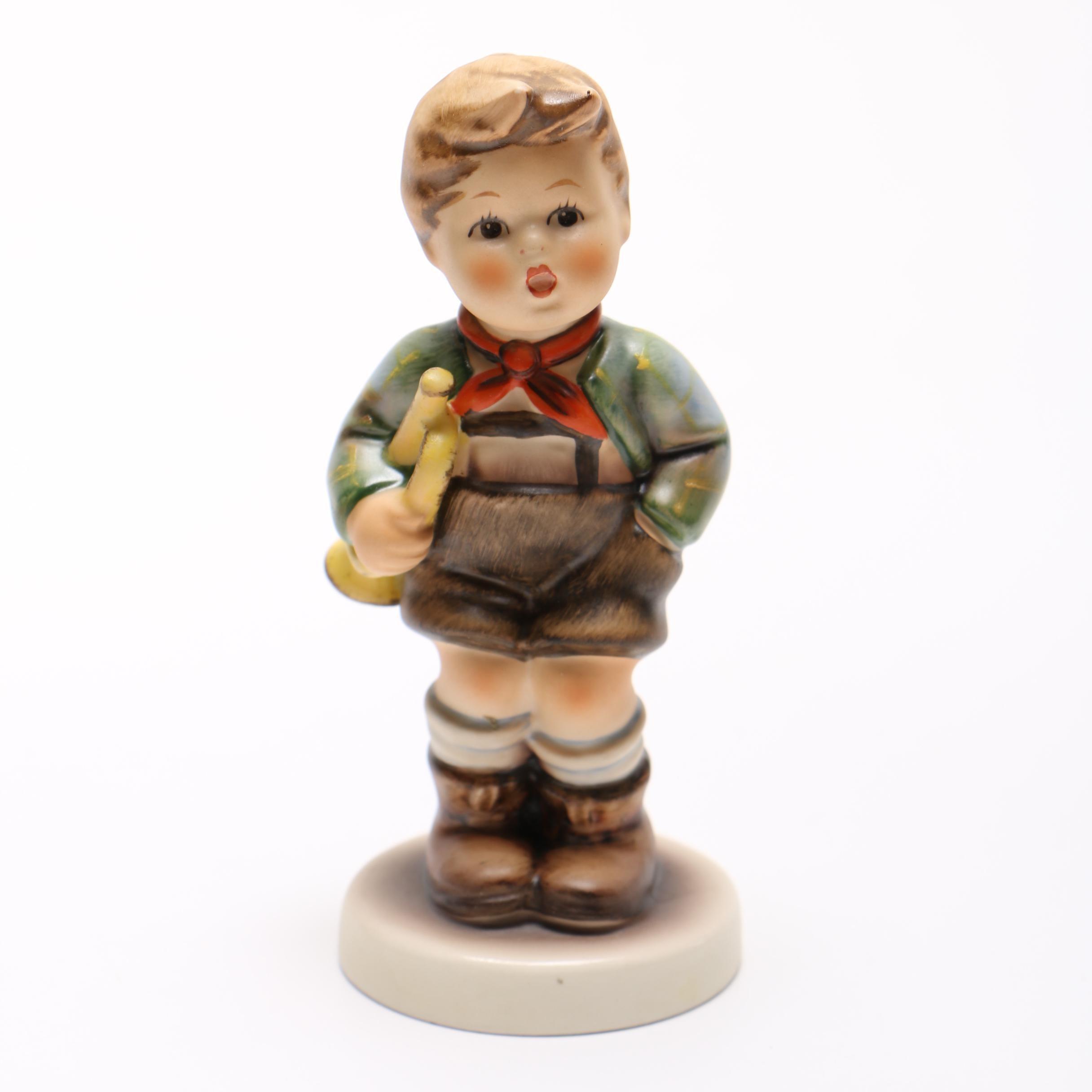 """Hummel Figurine """"Trumpet Boy"""""""