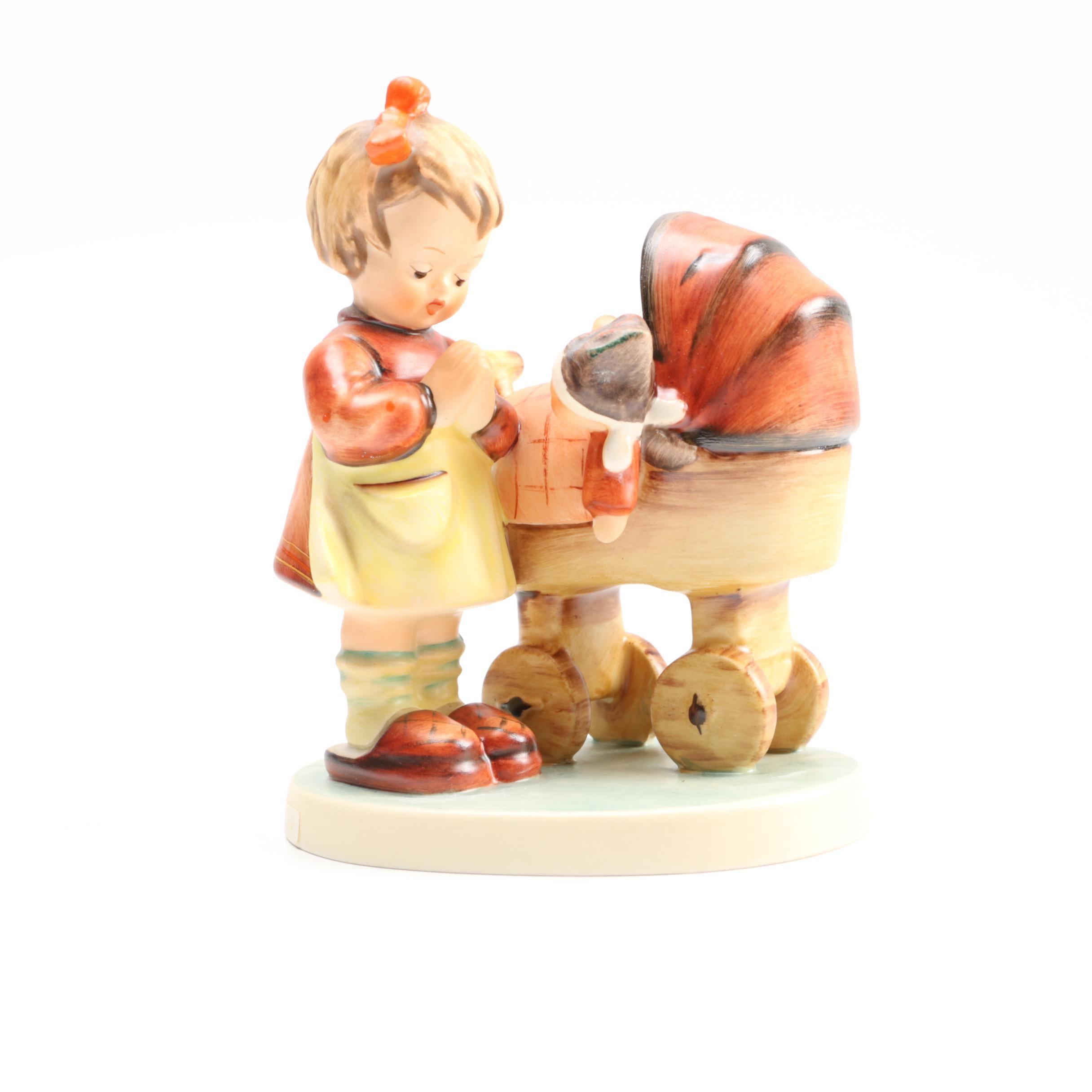 """Goebel Hummel Porcelain Figurine """"Doll Mother"""""""