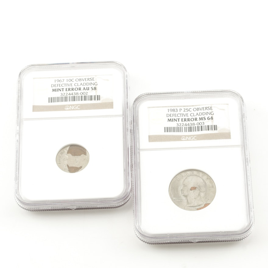 Two Encapsulated Error Coins