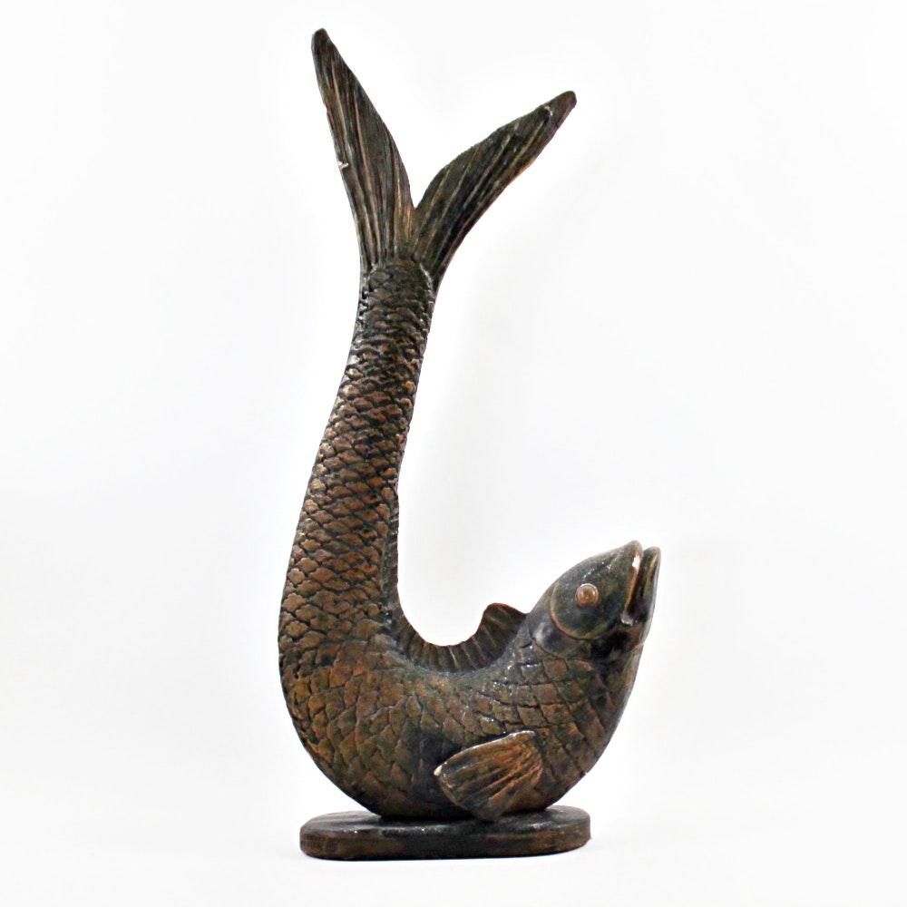 """""""Japanese Carp"""" by Yashima Gakutei"""