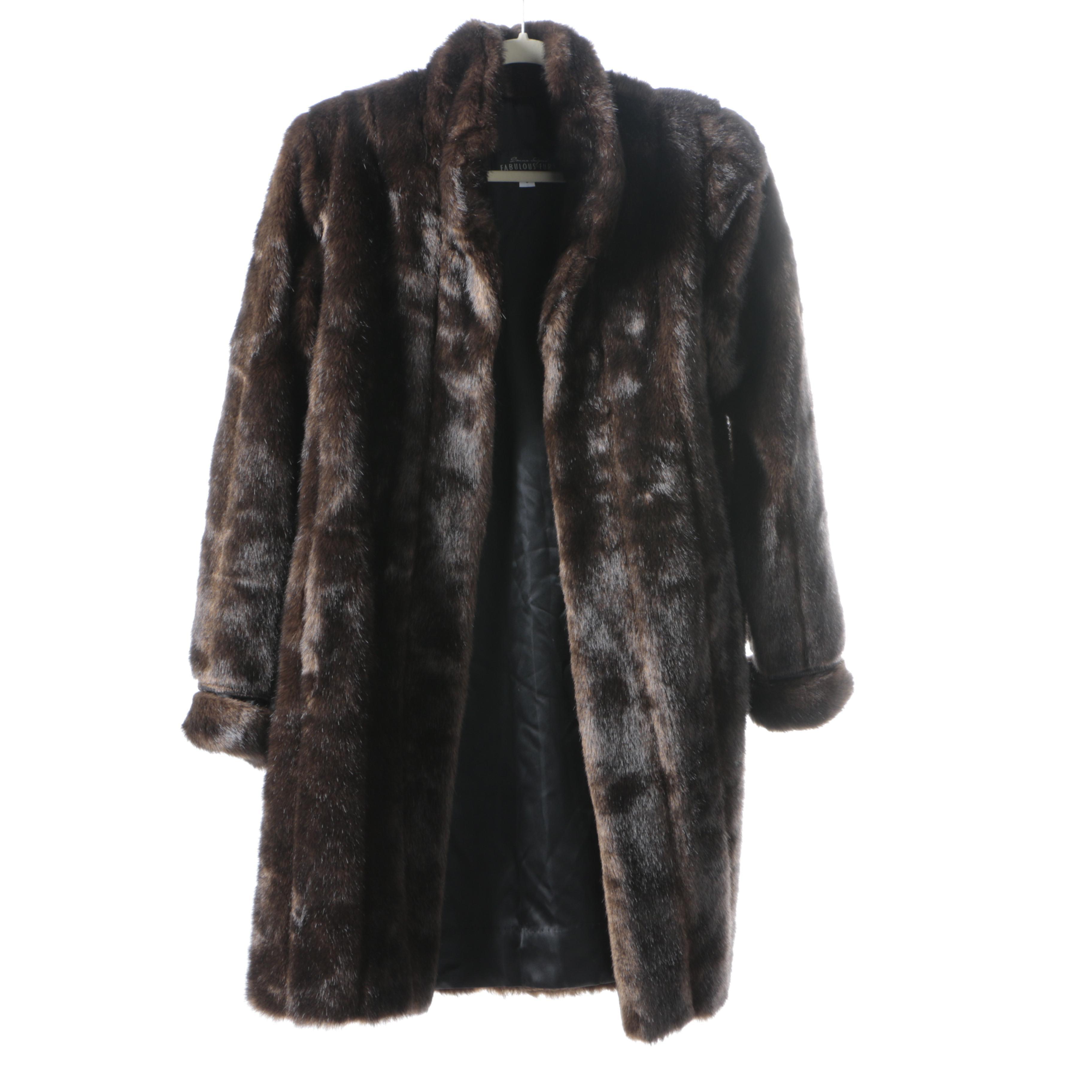 Donna Salyer Faux Fur Coat