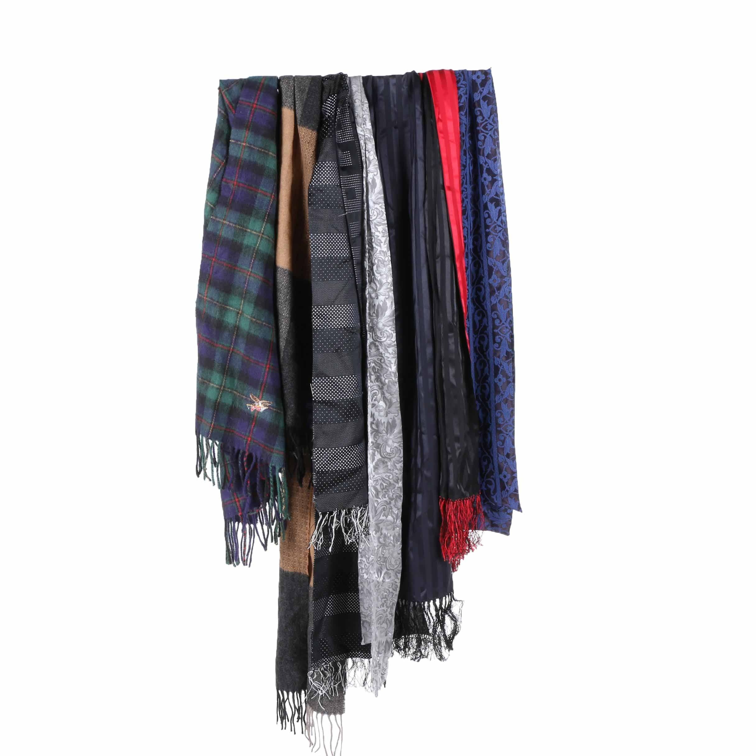 Men's Scarves Including Joseph & Lyman