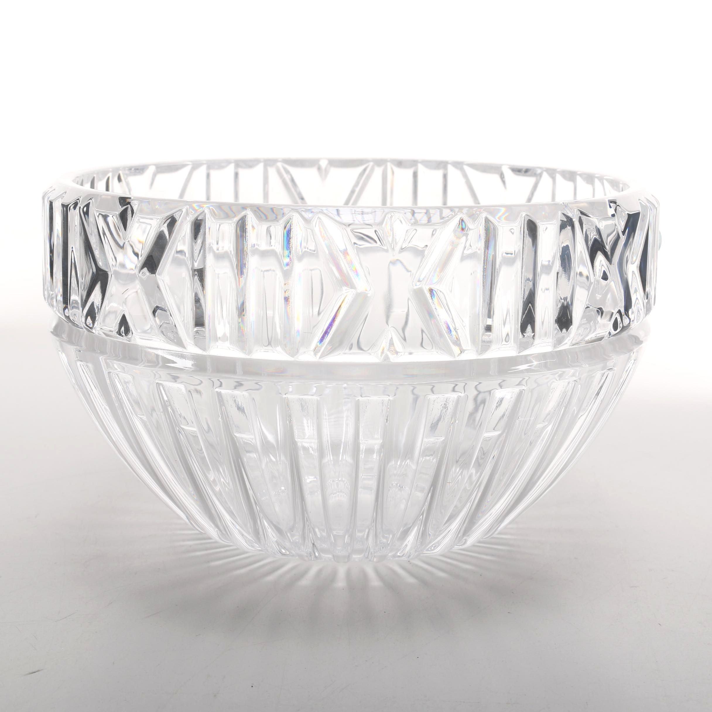 Tiffany & Co. Crystal Bowl