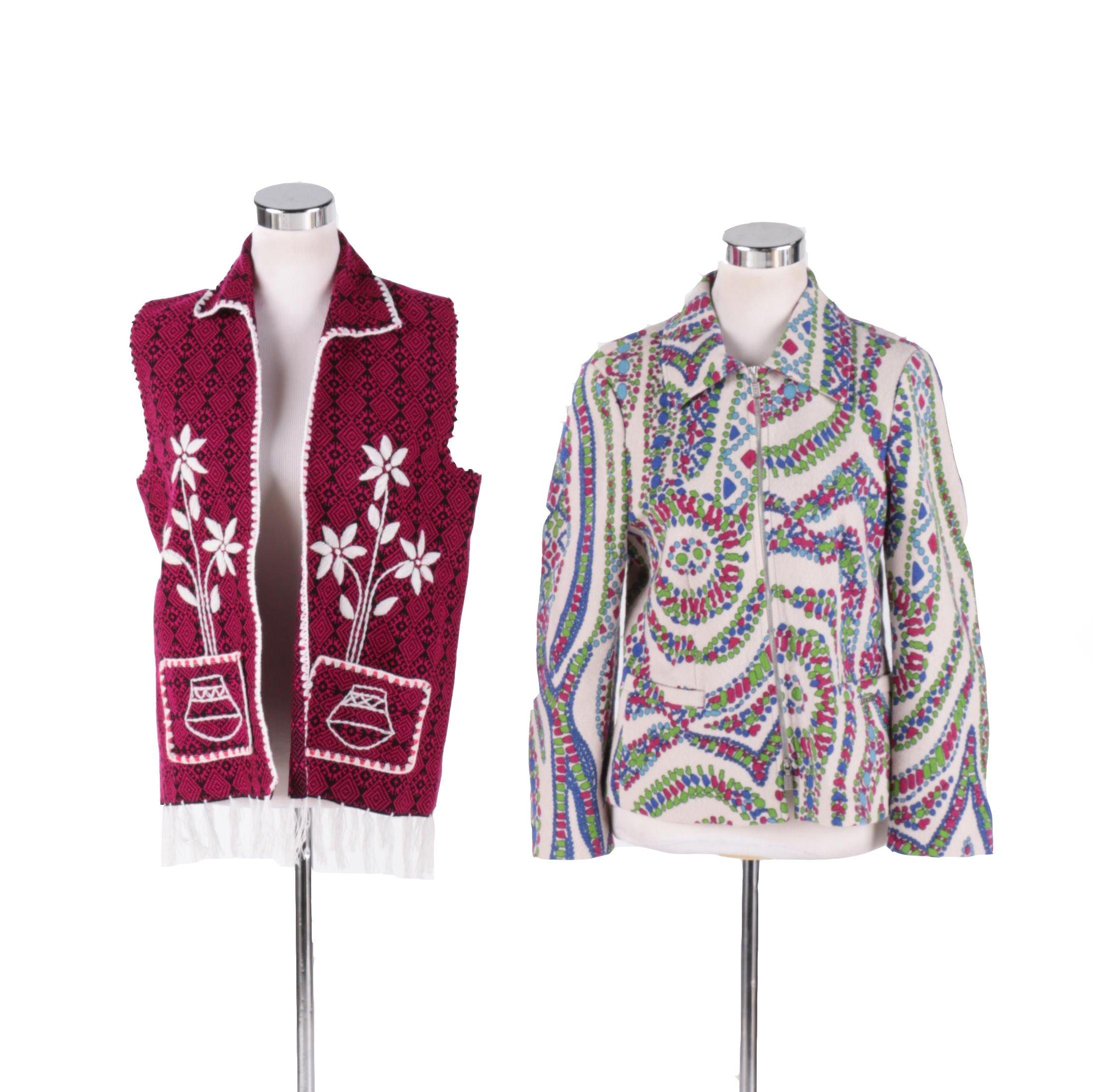 Vintage Vest and Jacket Circa 1970