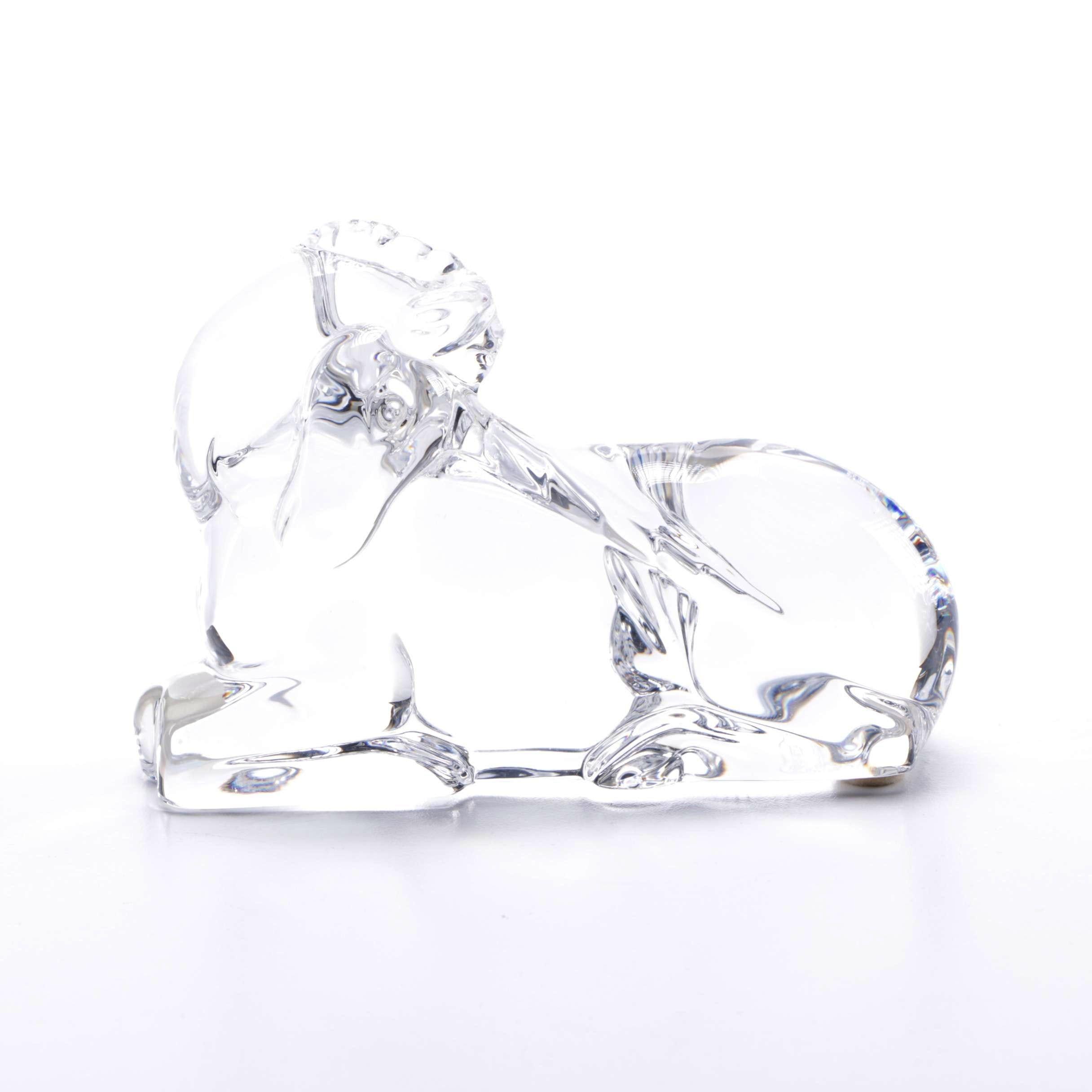 Baccarat Crystal Unicorn