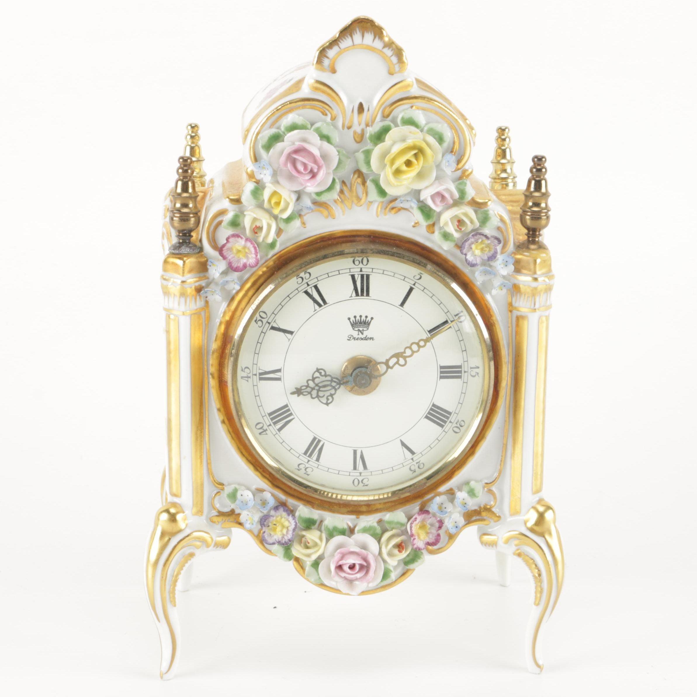 Dresden Mantel Clock