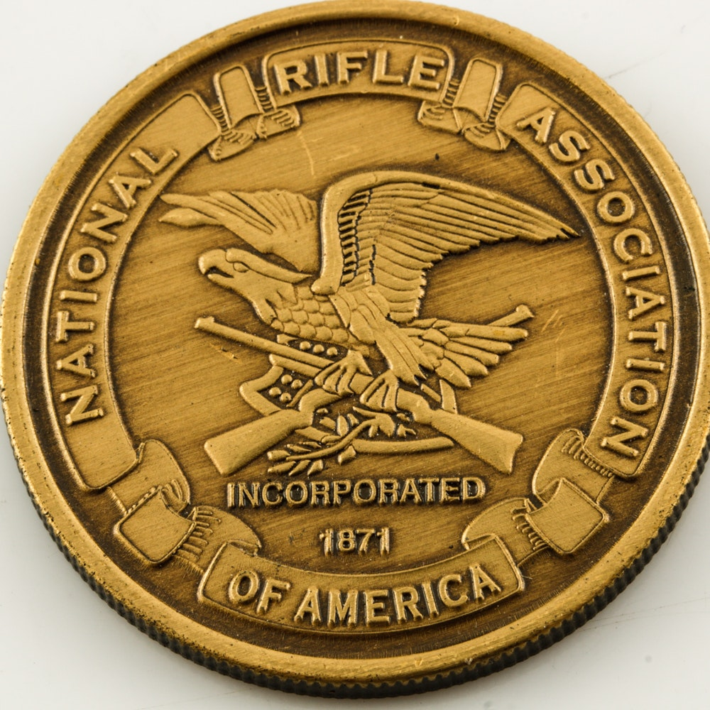 M1903 Rifle Series Springfield NRA Challenge Coin
