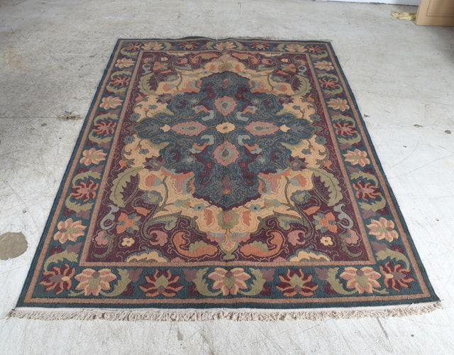 Country Brand Polypropylene and Wool Blend Rug