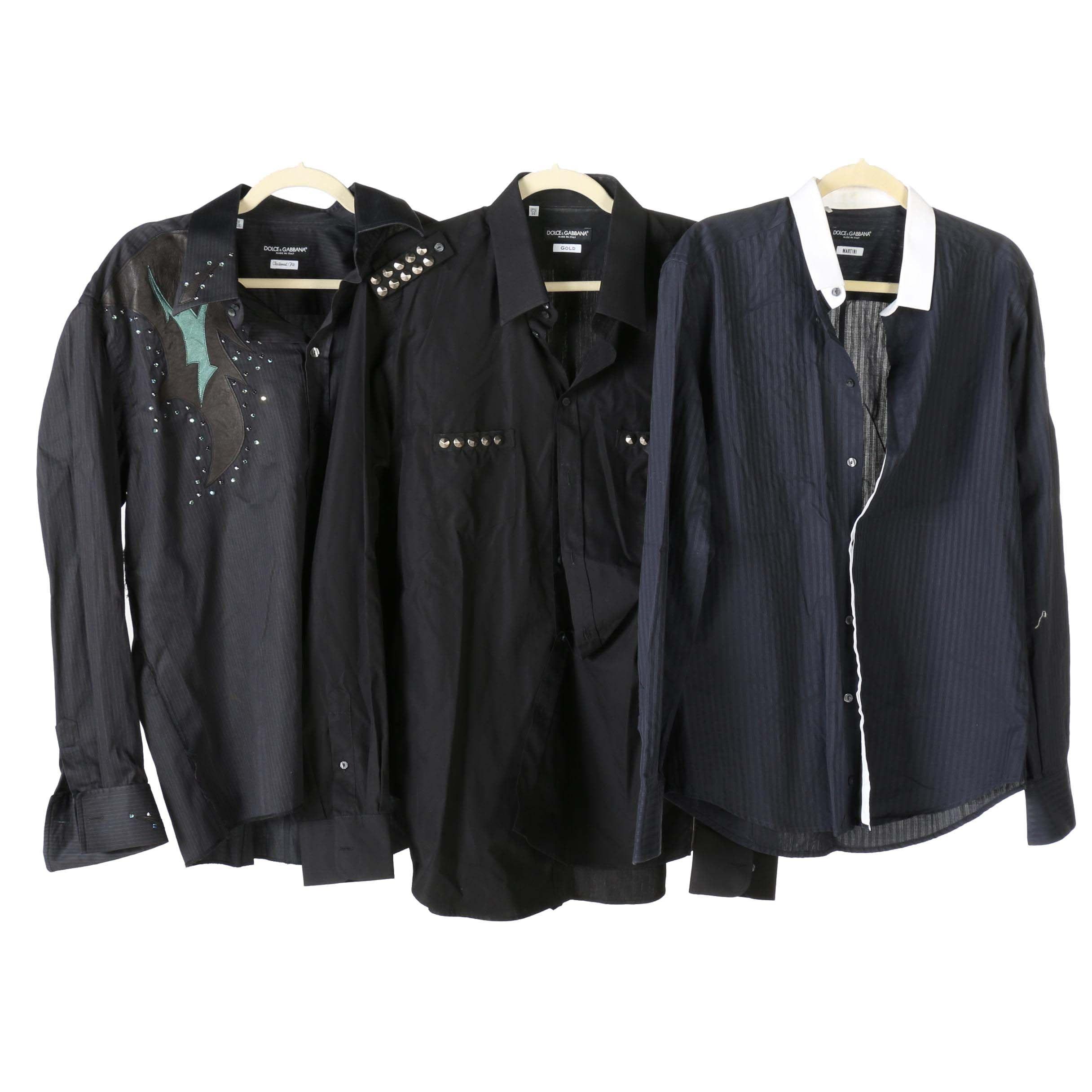 Dolce & Gabbana Button Up Shirts