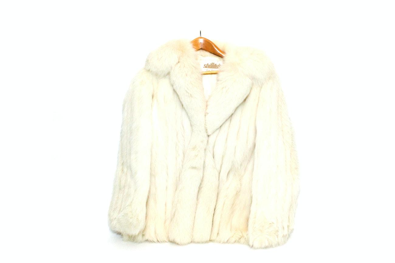 Shillito's White Fox Fur Coat