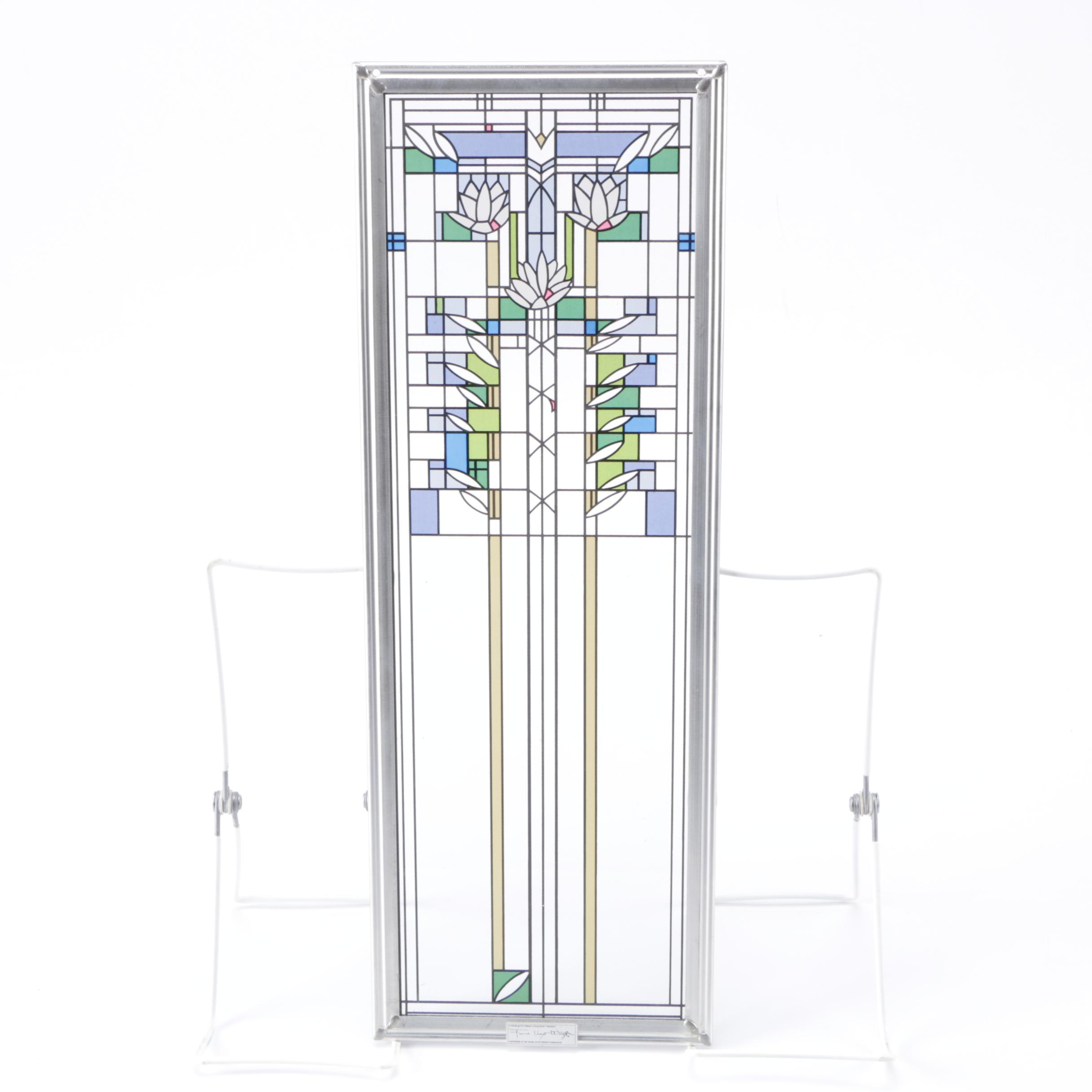 Frank Lloyd Wright Waterlilies Decorative Stained Glass