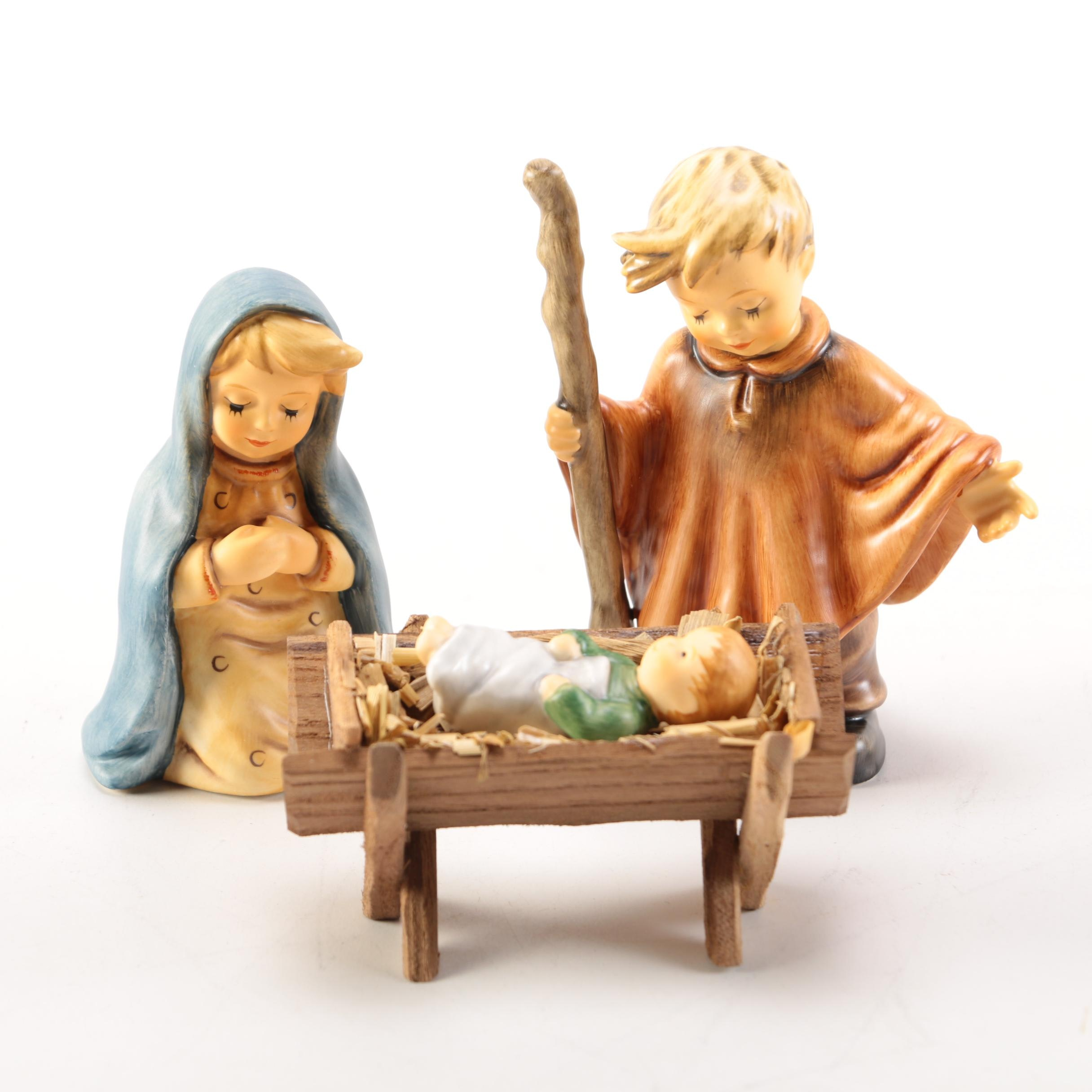 "Hummel ""Children's Nativity"" Figurines"