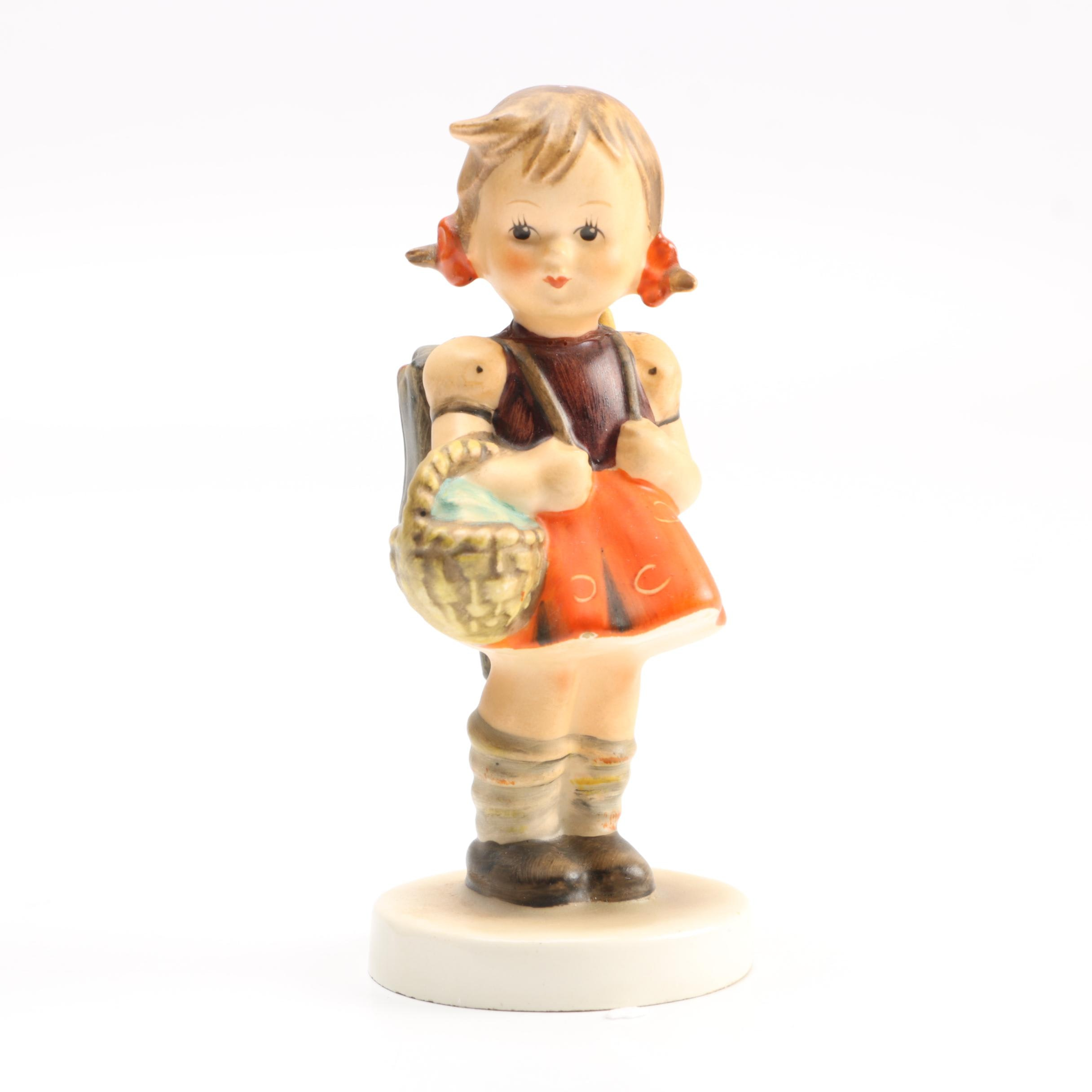 "Goebel Hummel Porcelain Figurine ""School Girl"""