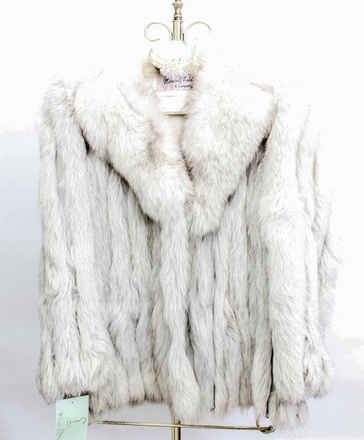 Marshall Field & Company Fox Fur Jacket