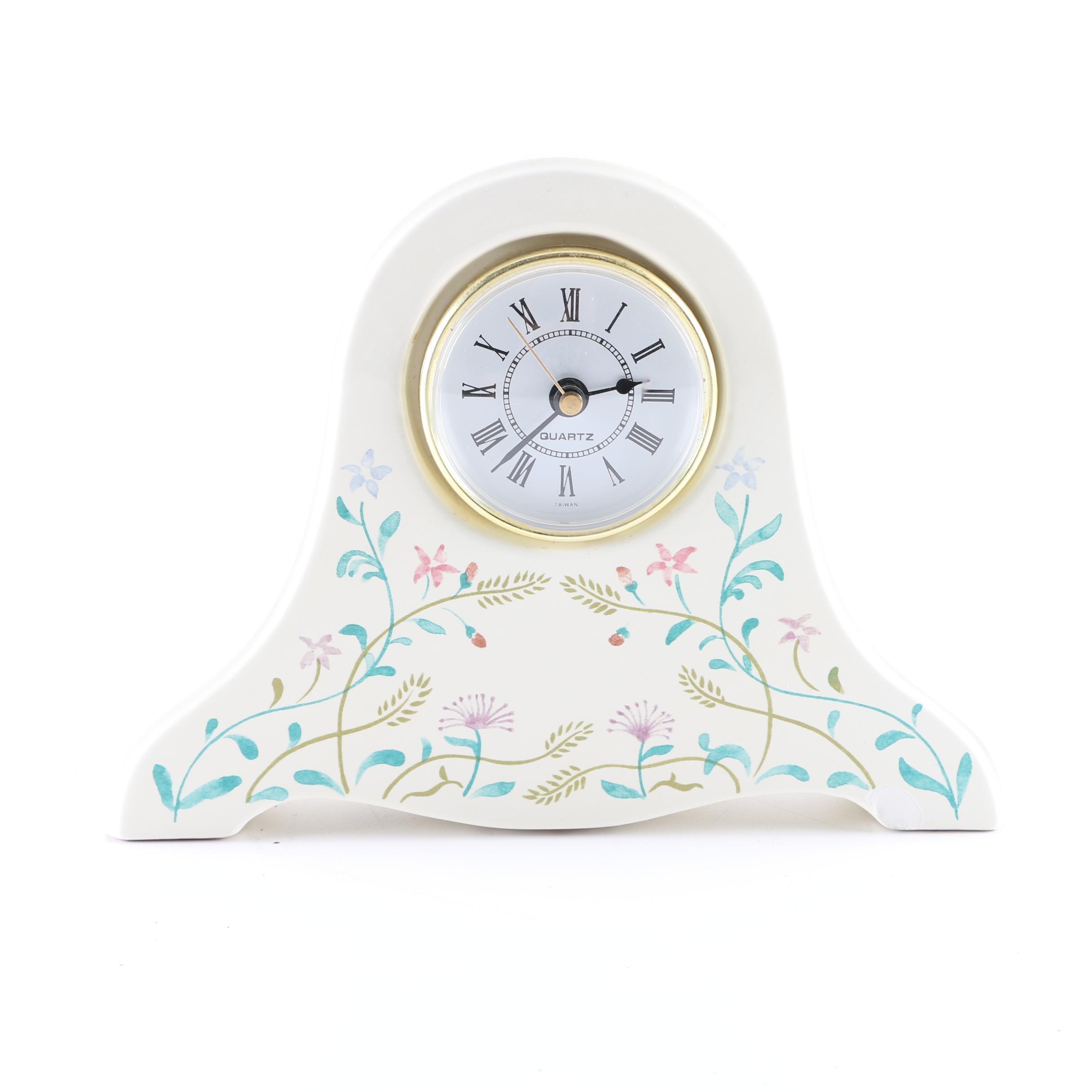 Ceramic Mantel Clock