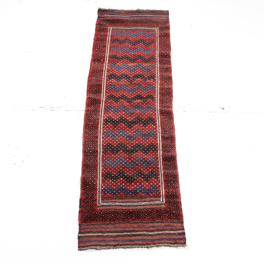 Hand Knotted Northwest Persian Baluch Runner