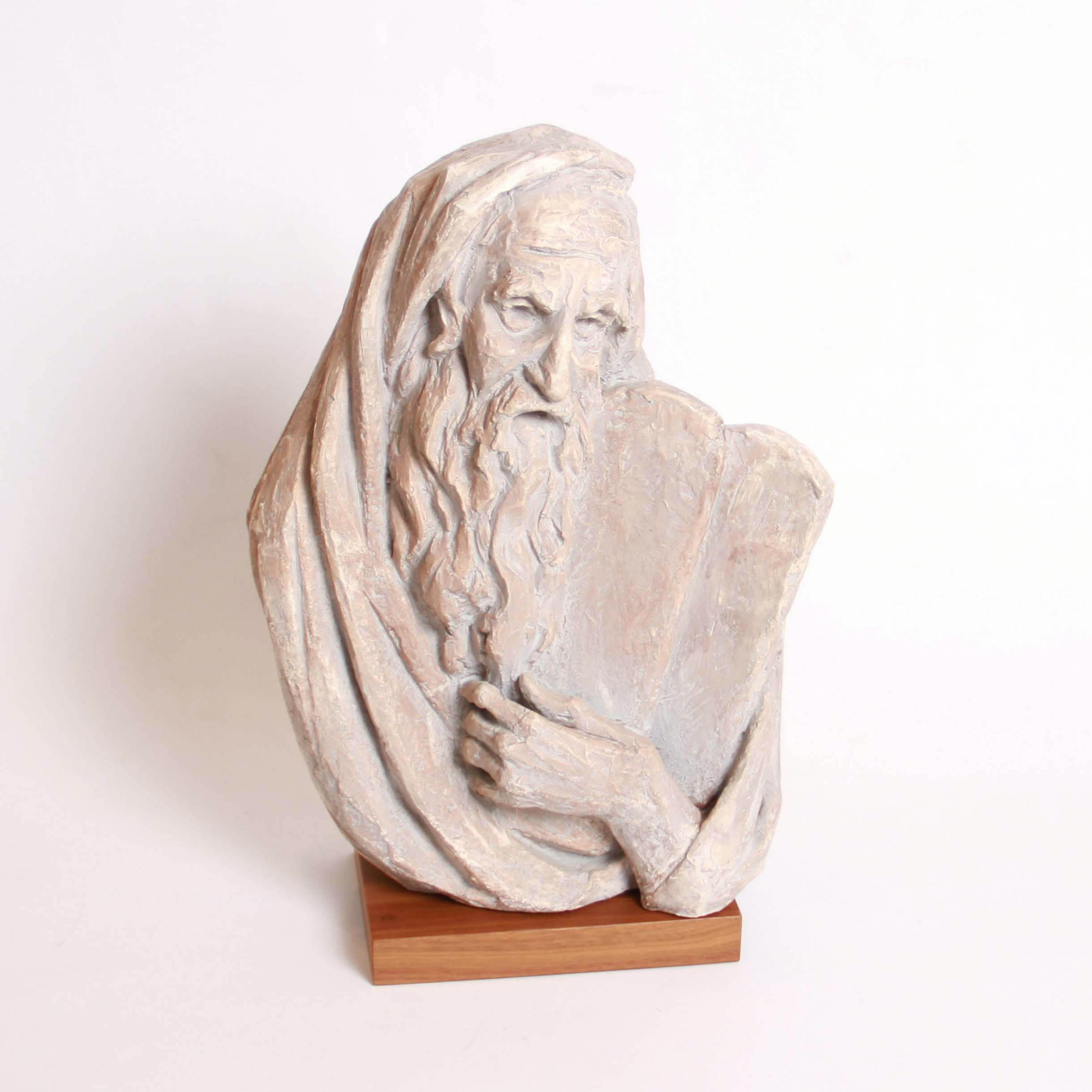 Plaster Sculpture of Moses