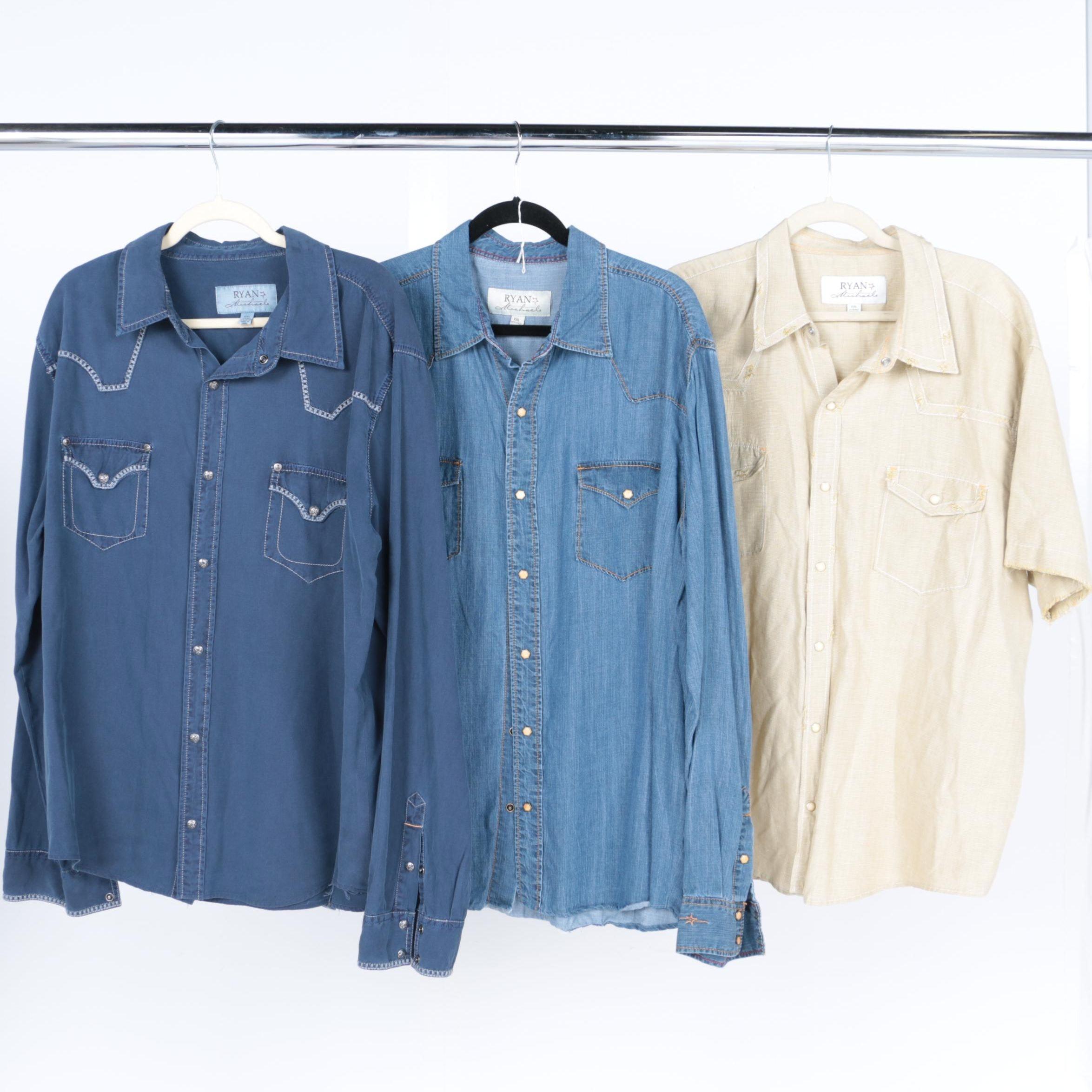 Ryan Michael Button Up Shirts