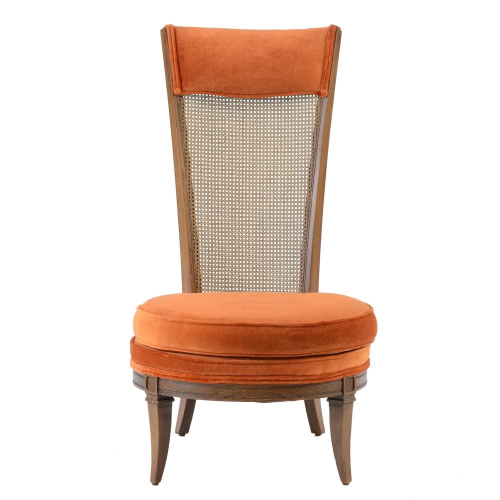 Mid Century Modern High Backed Chair