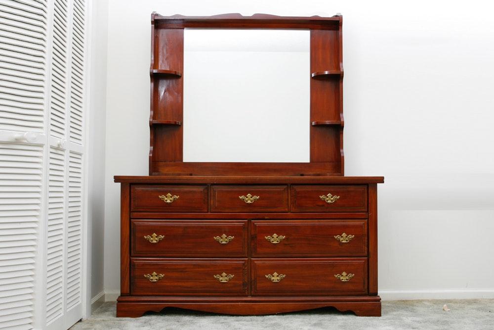 DeSoto Furniture Dresser with Mirror