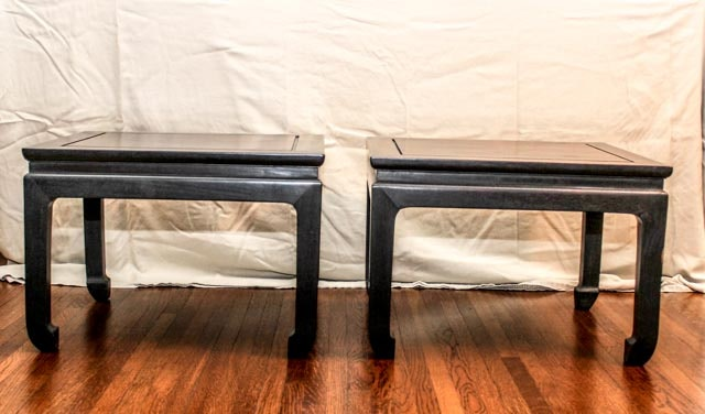 Pair of Asian Style Side Tables