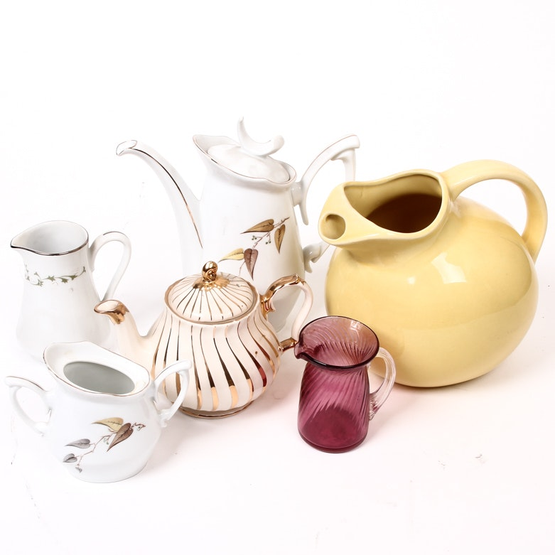 Vintage Table Ceramics and Glassware