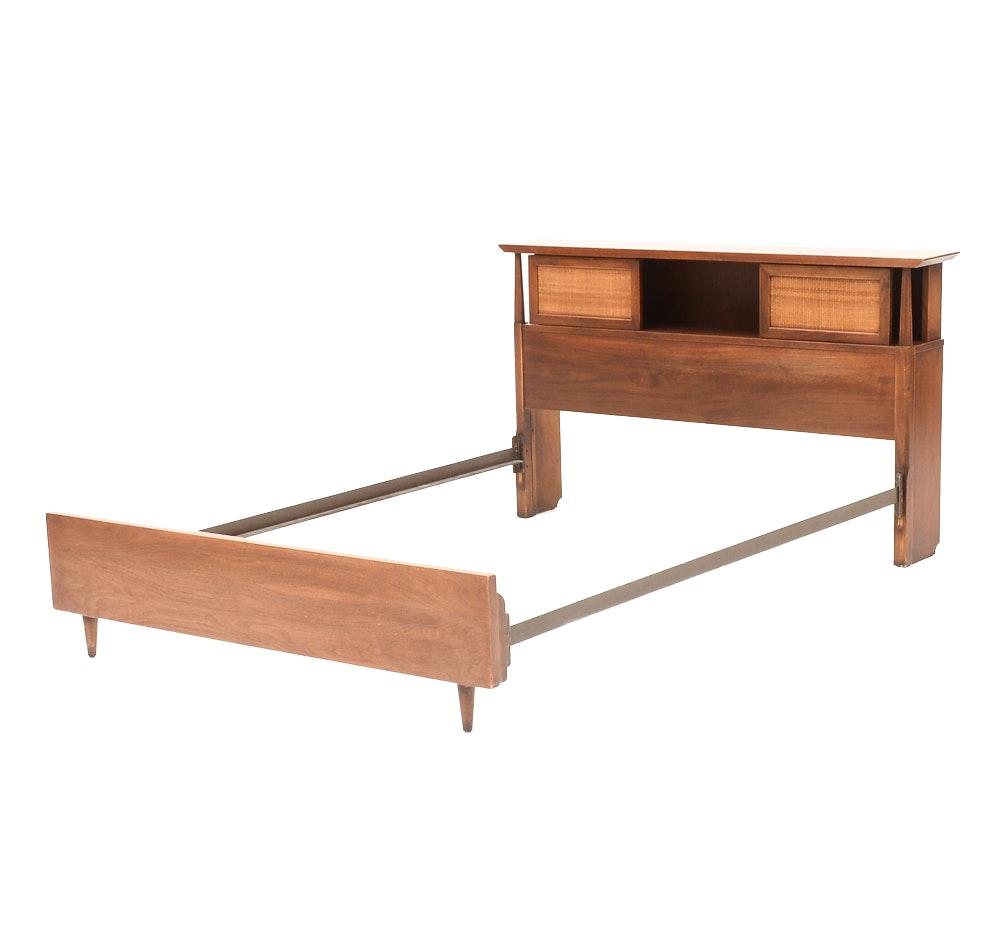 Mid Century Modern Queen Bed Frame