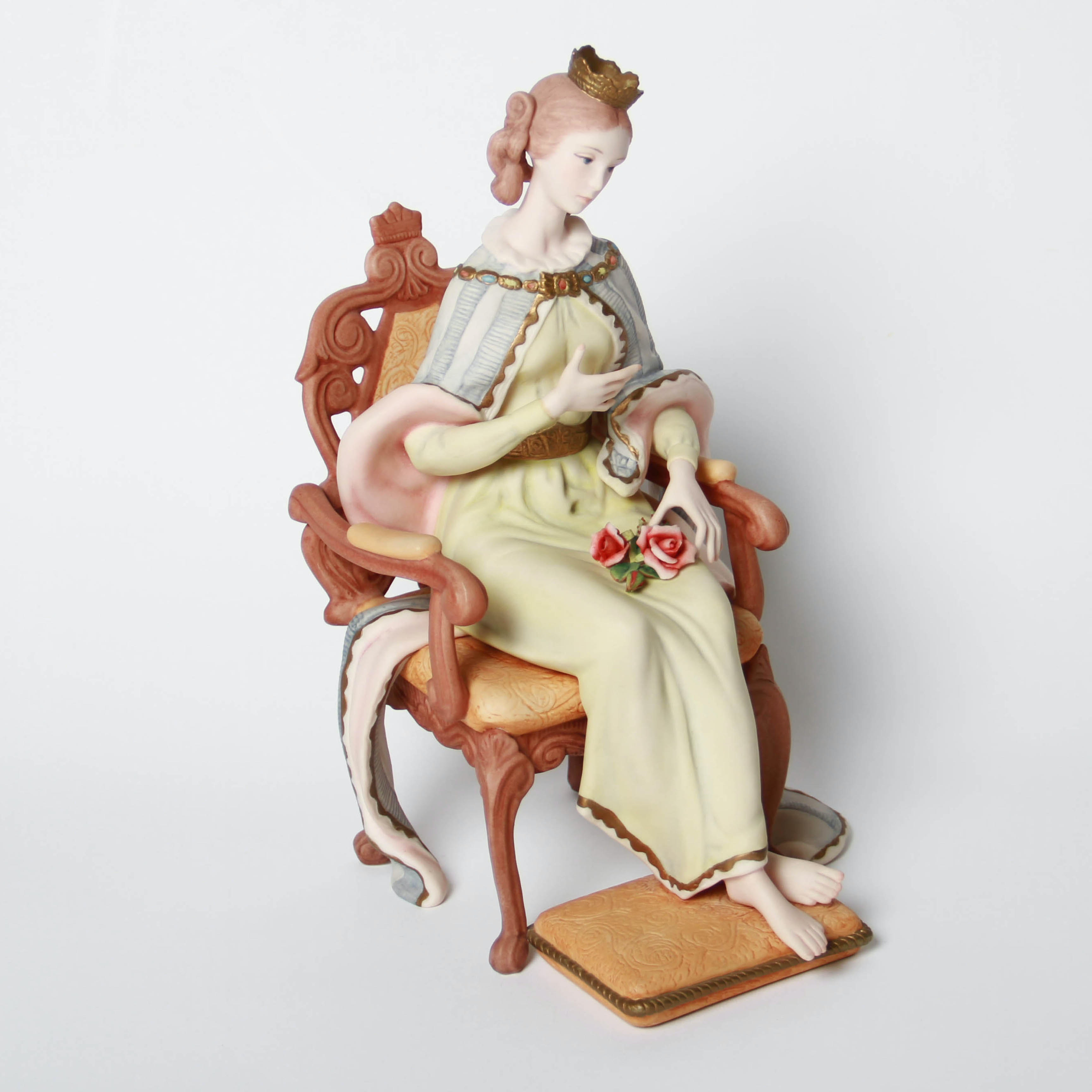 """Laszlo Ispanky Limited Edition """"Queen of Spring"""" Porcelain Figurine"""