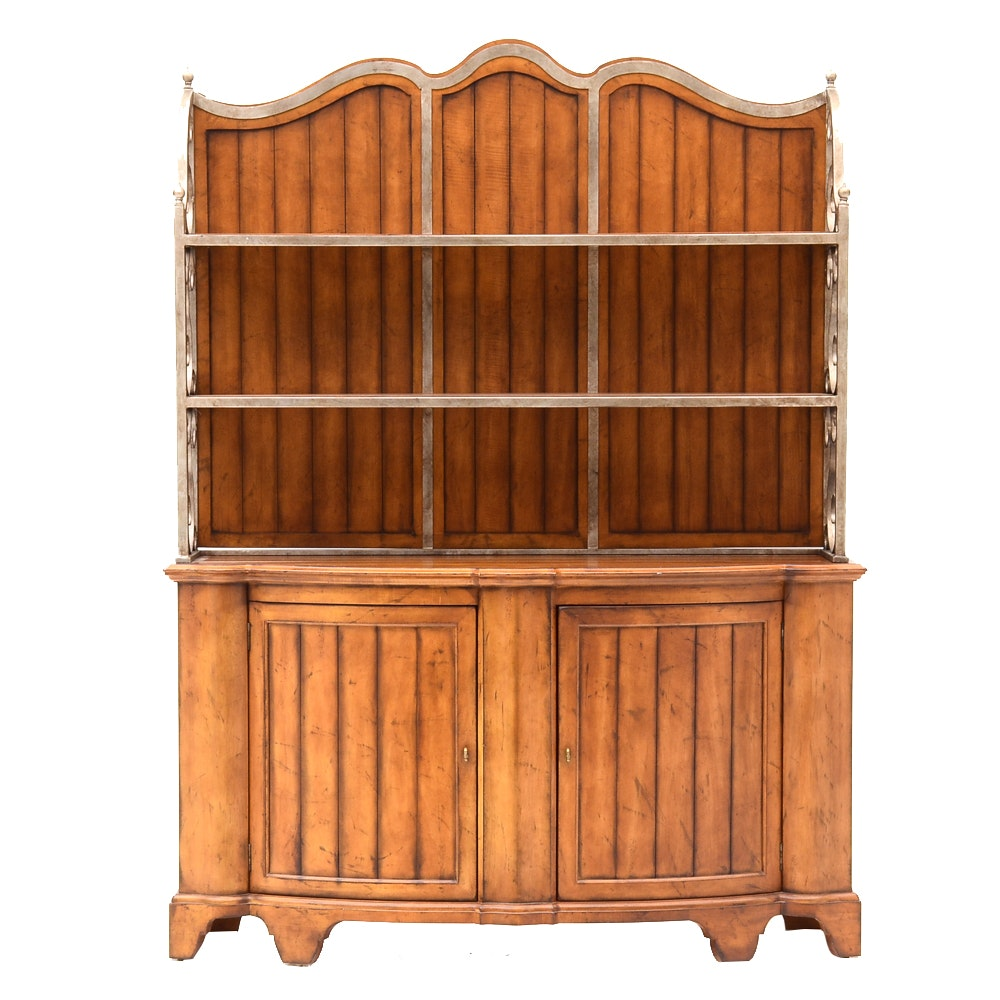 Country Style Sideboard with Shelving