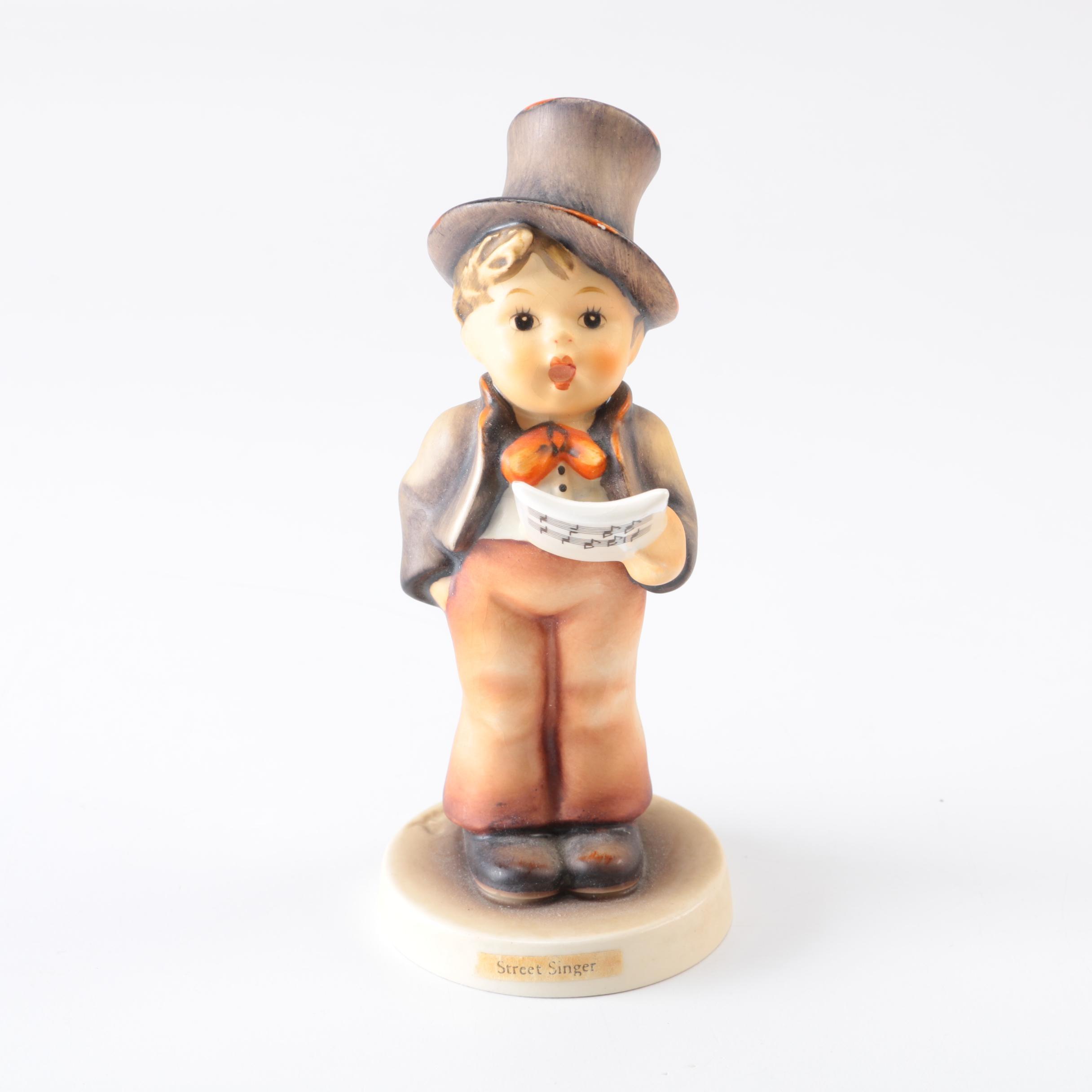 "Hummel Figurine ""Street Singer"""