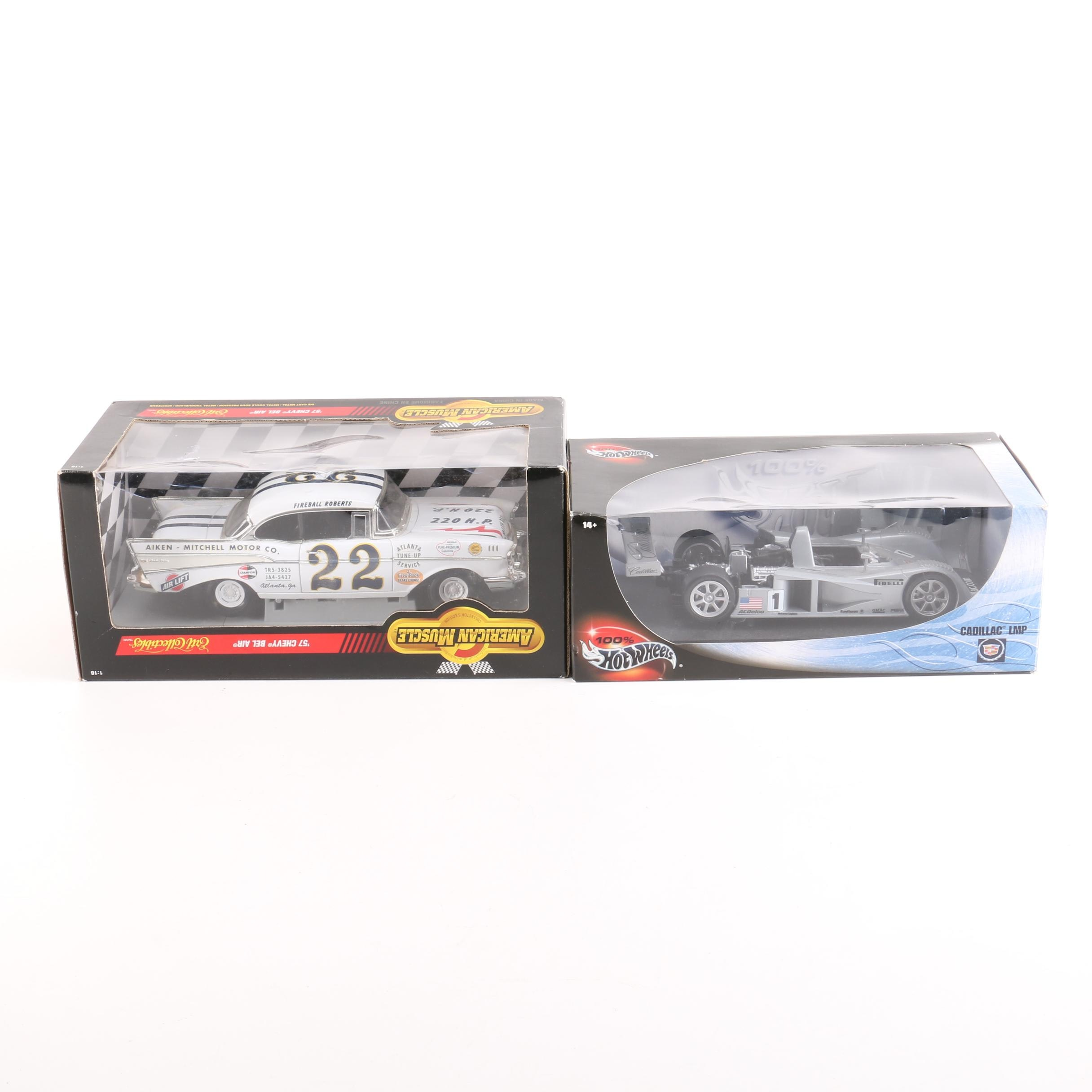 Pair of Die-Cast Cars