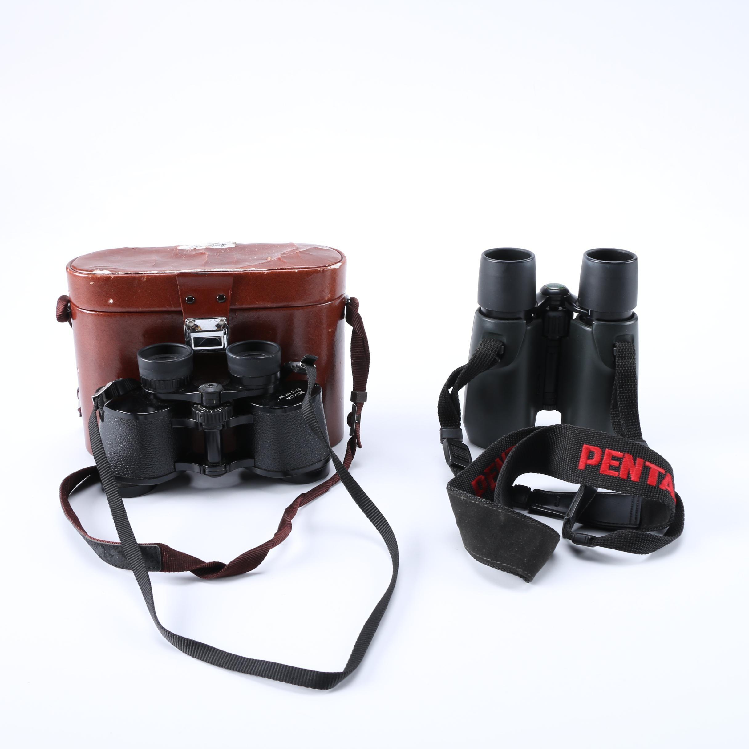Binoculars Featuring Canon and Nikon