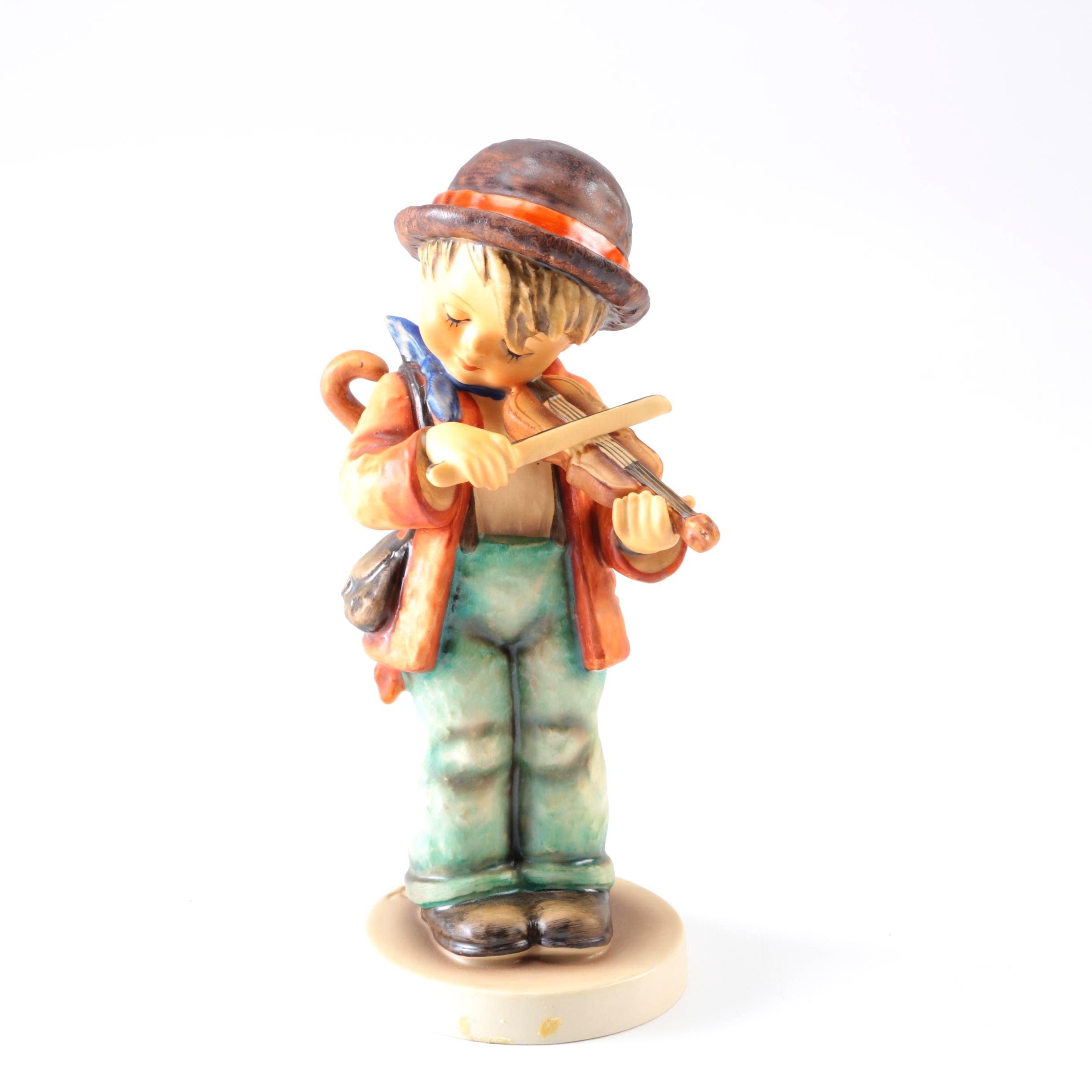 """Hummel Figurine """"Little Fiddler"""""""
