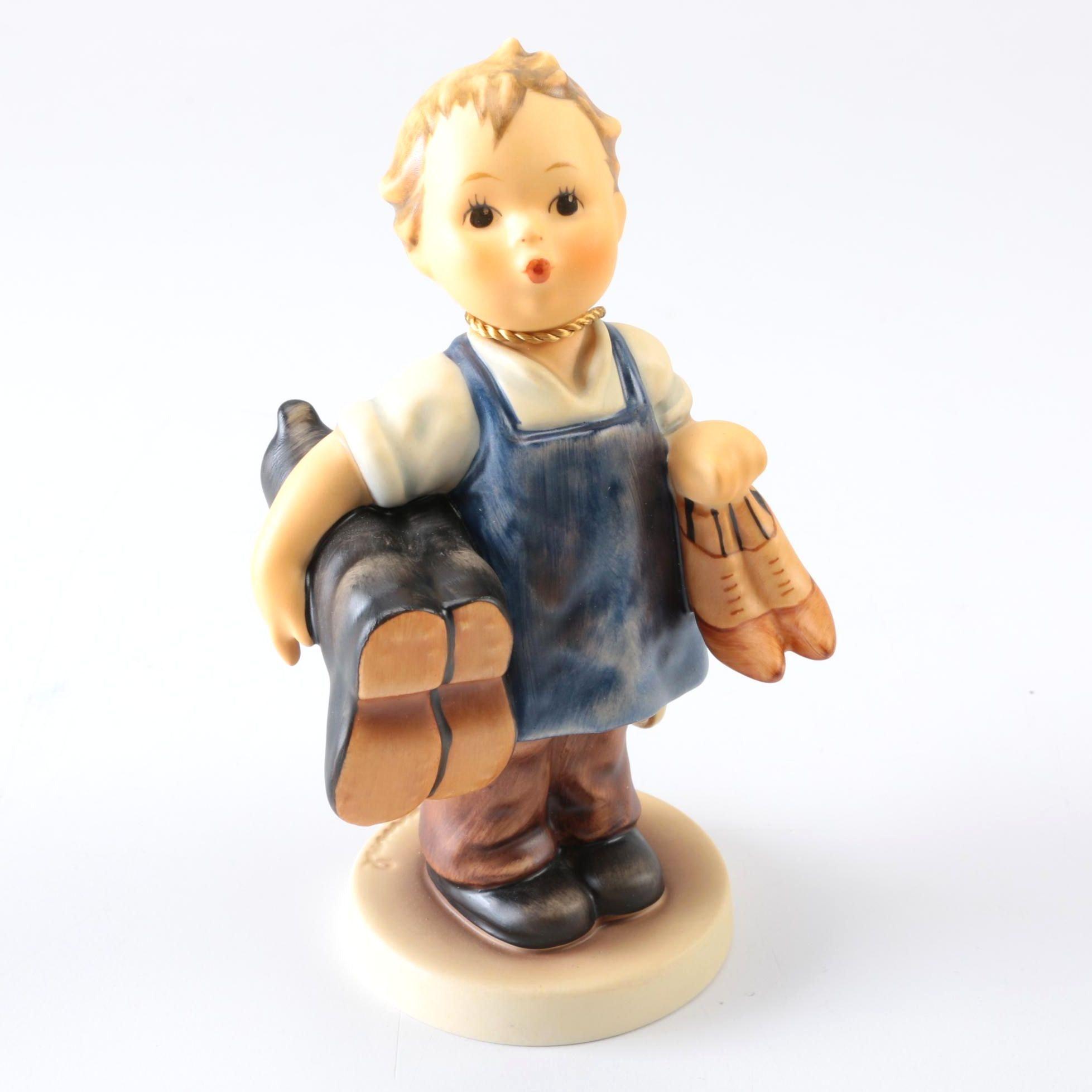 "Hummel Figurine ""Boots"""