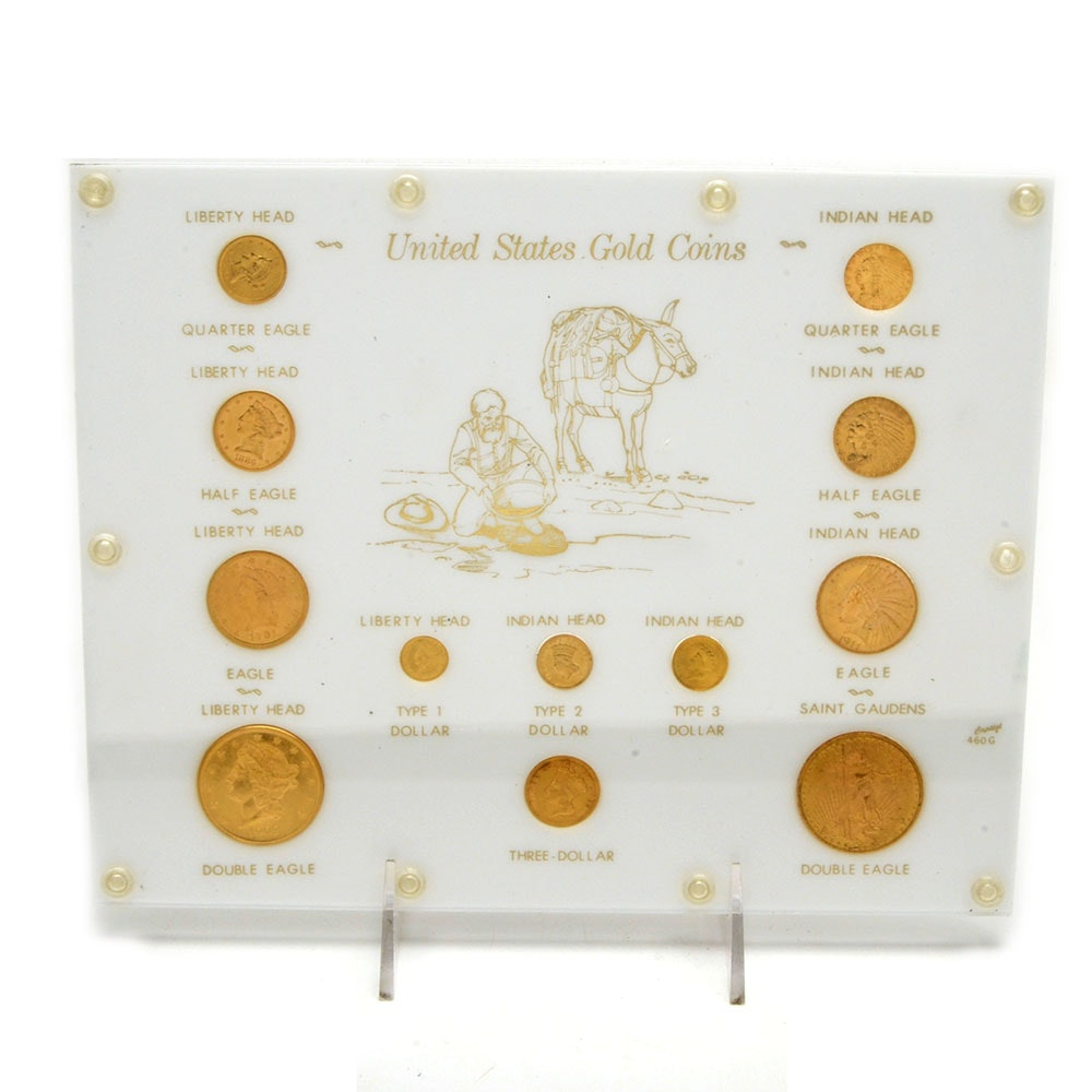 United States Gold Coins Presentation