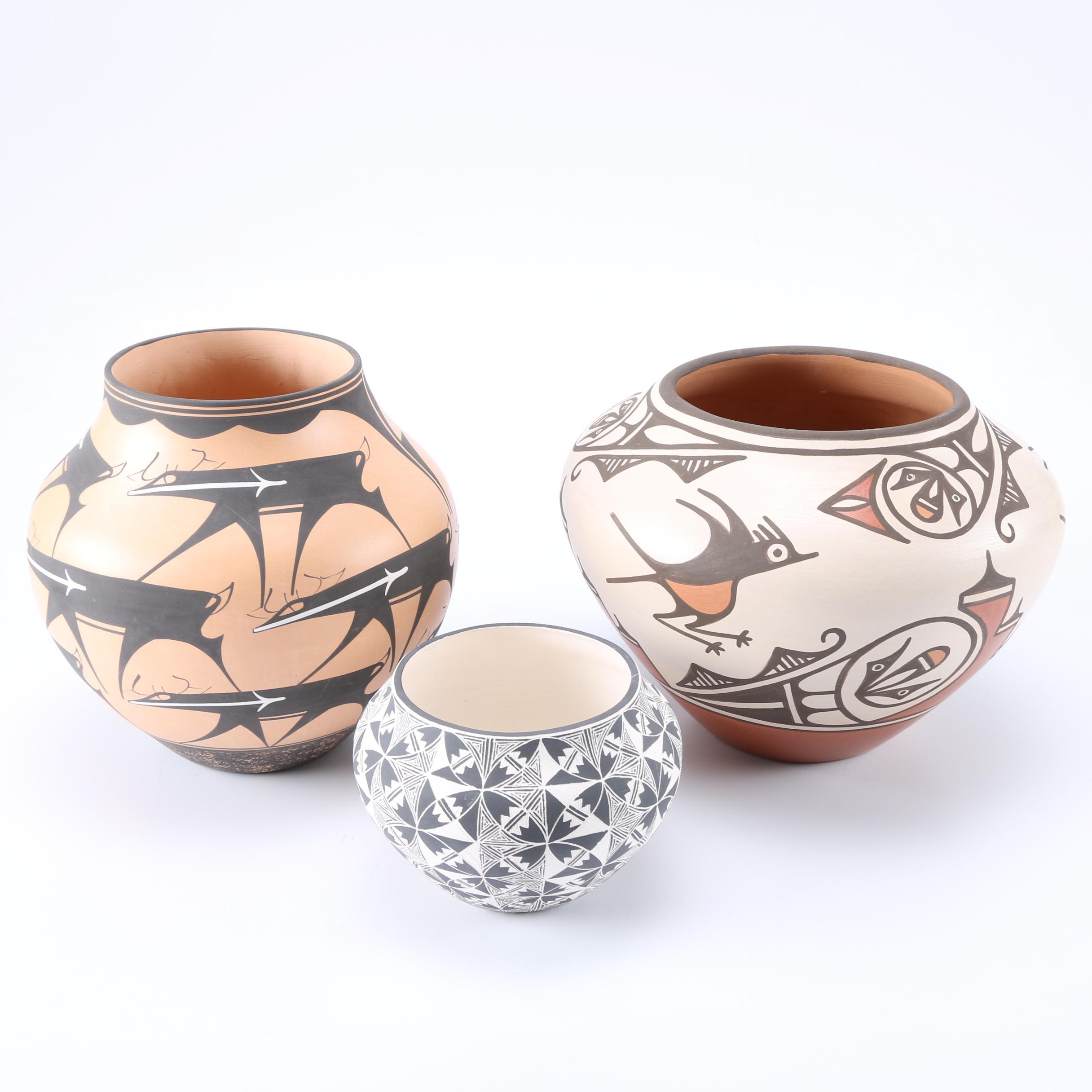 Hand-Thrown Pueblo Pottery Featuring Jolene Tenorio
