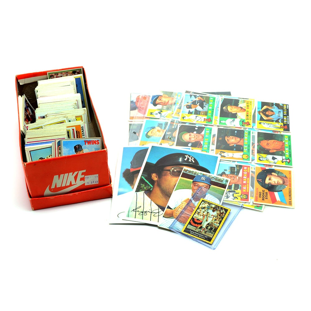 1960-61 Topps Baseball Cards and More
