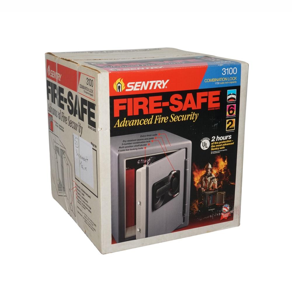 sentry 3100 combination lock safe ebth rh ebth com Sliding Doors Combination Sentry 3100